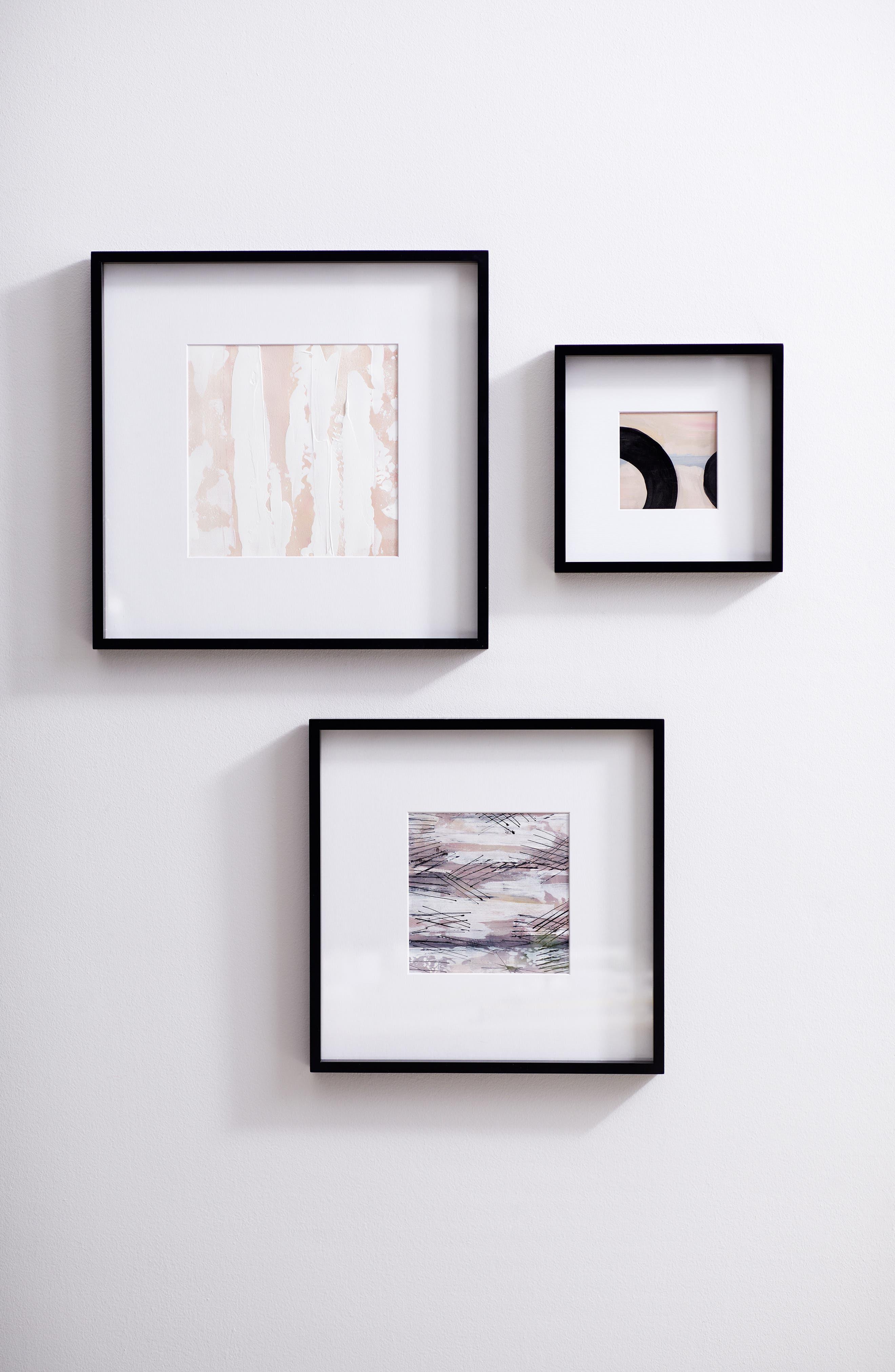 THE WHITE COMPANY, Fine Wooden Frame, Alternate thumbnail 2, color, BLACK- 8 X 8