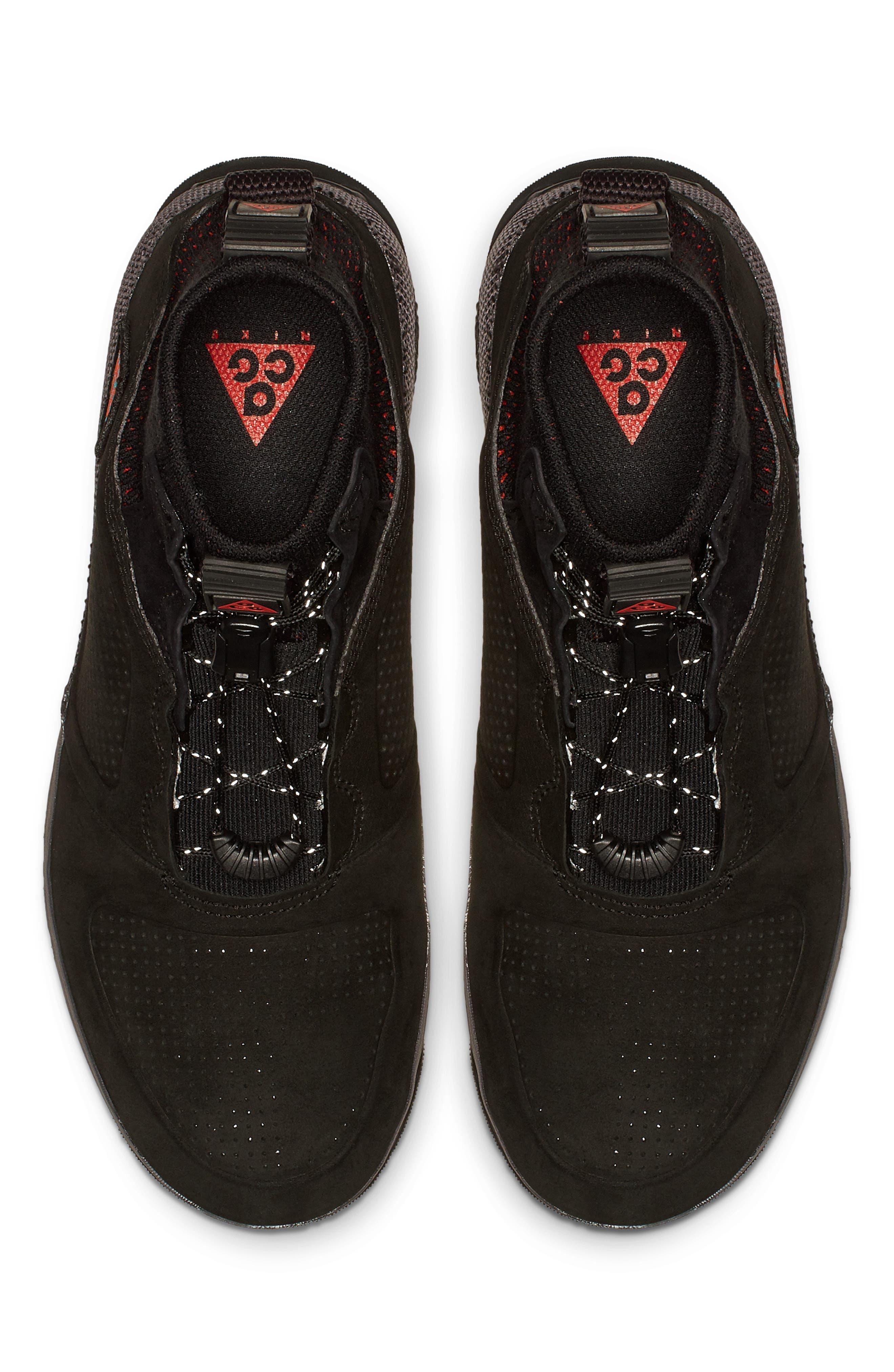 NIKE, ACG Ruckel Ridge Sneaker, Alternate thumbnail 4, color, 002