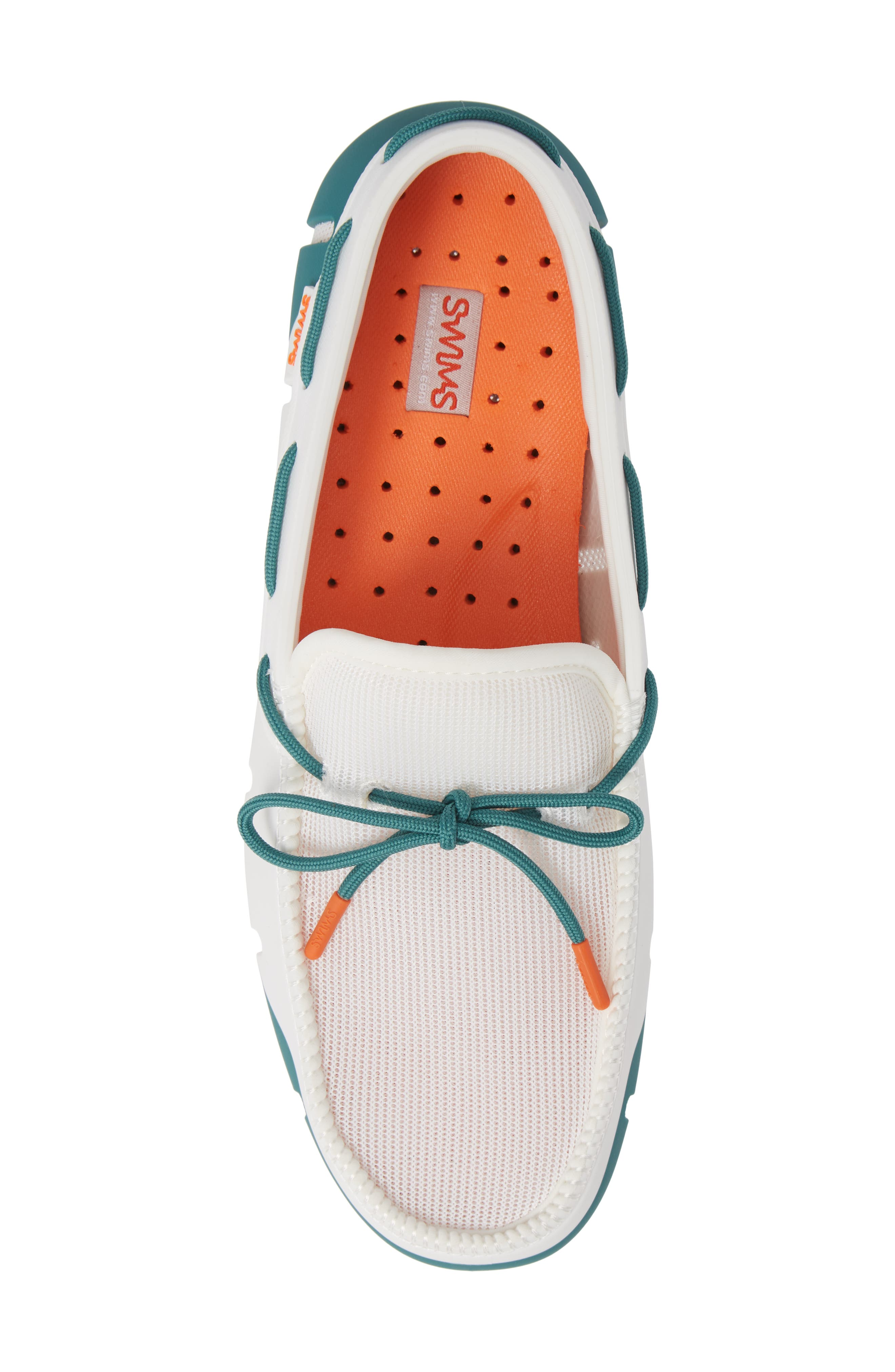 SWIMS, Stride Lace Loafer, Alternate thumbnail 5, color, 100
