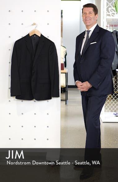 Jetsetter Slim Fit Stretch Wool Blazer, sales video thumbnail