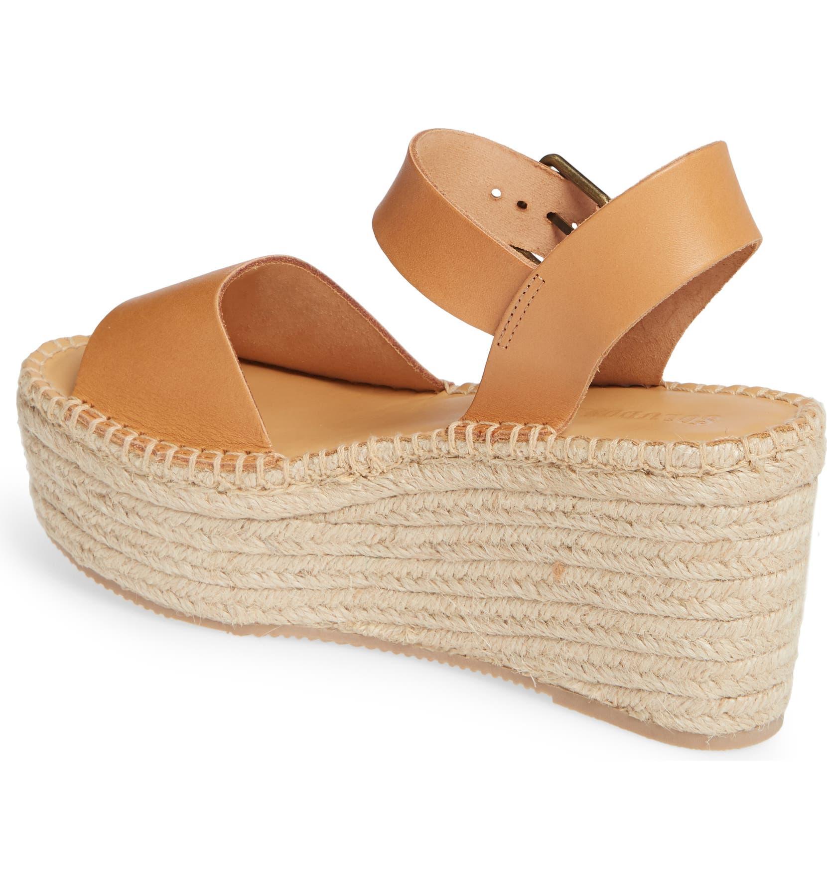 b57a044bbaf3 Soludos Minorca Platform Wedge Sandal (Women)