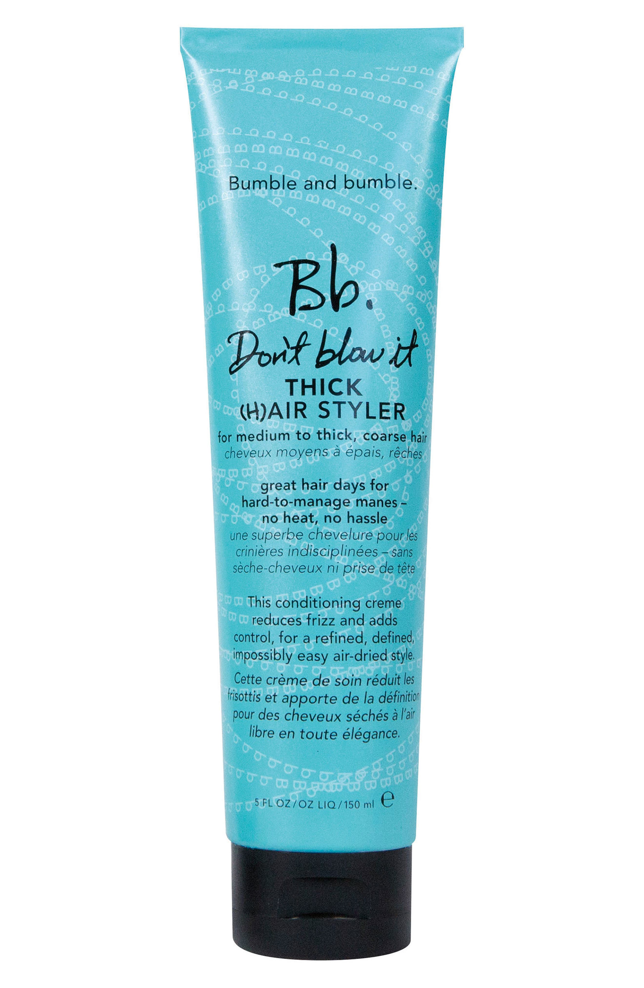 BUMBLE AND BUMBLE. Bumble and bumble Don't Blow It Thick Hair Styler, Main, color, NO COLOR