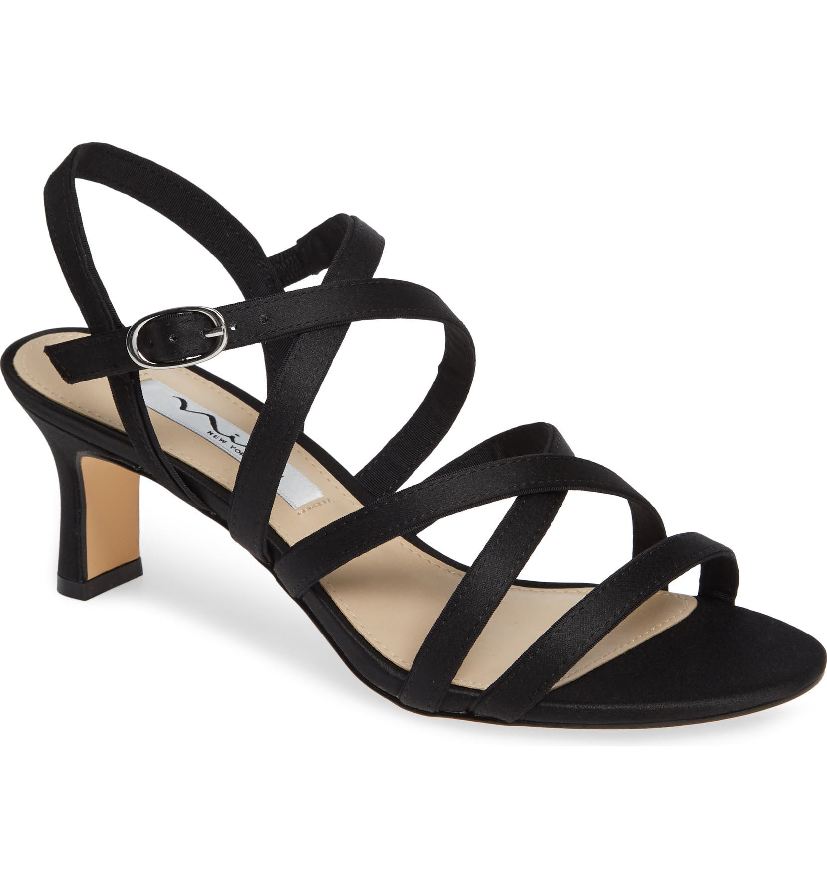 4afe3e668f3 Nina Genaya Strappy Evening Sandal (Women)