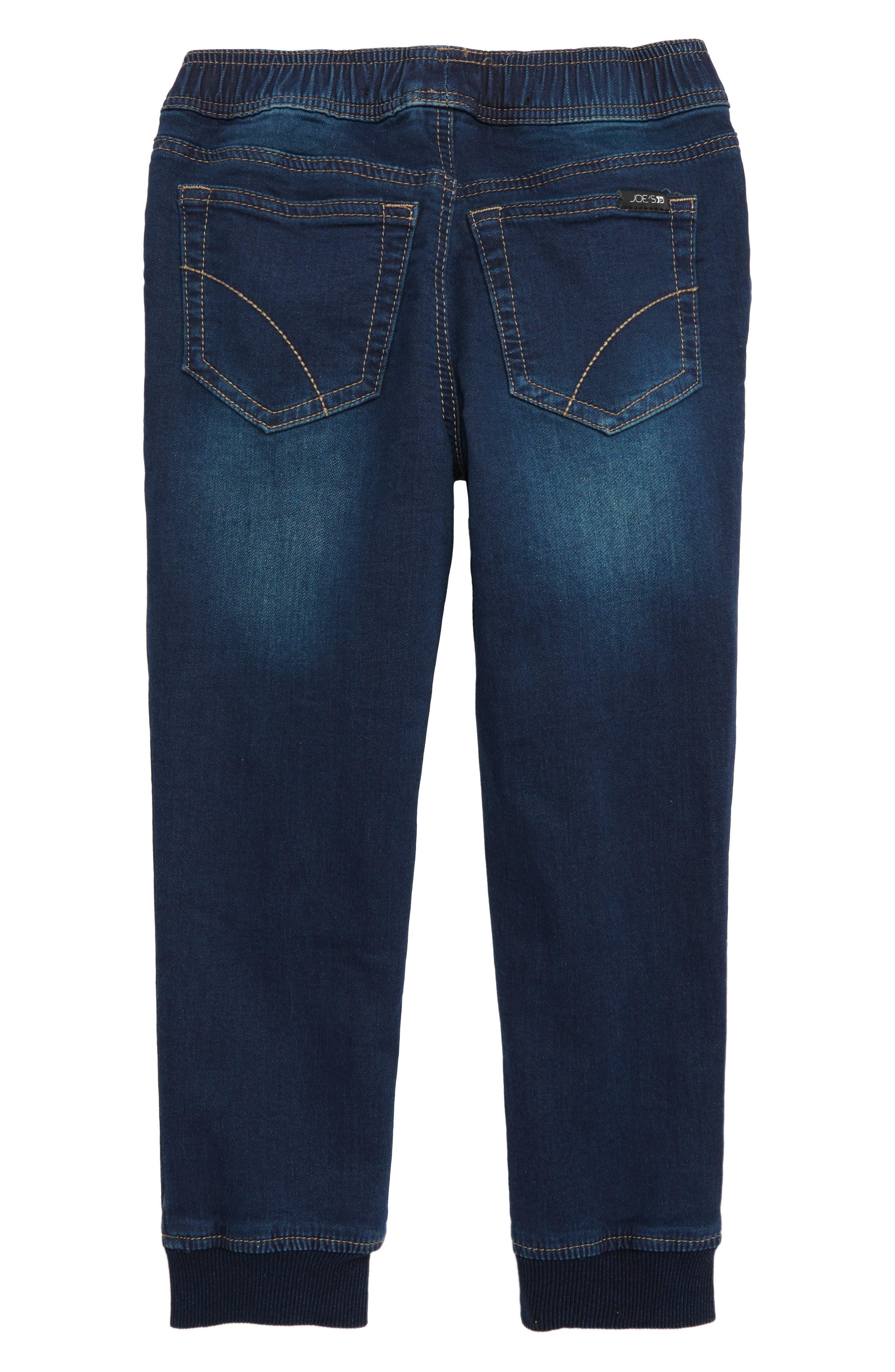 JOE'S, The Jogger Slim Fit Knit Pants, Alternate thumbnail 2, color, MARINE WASH
