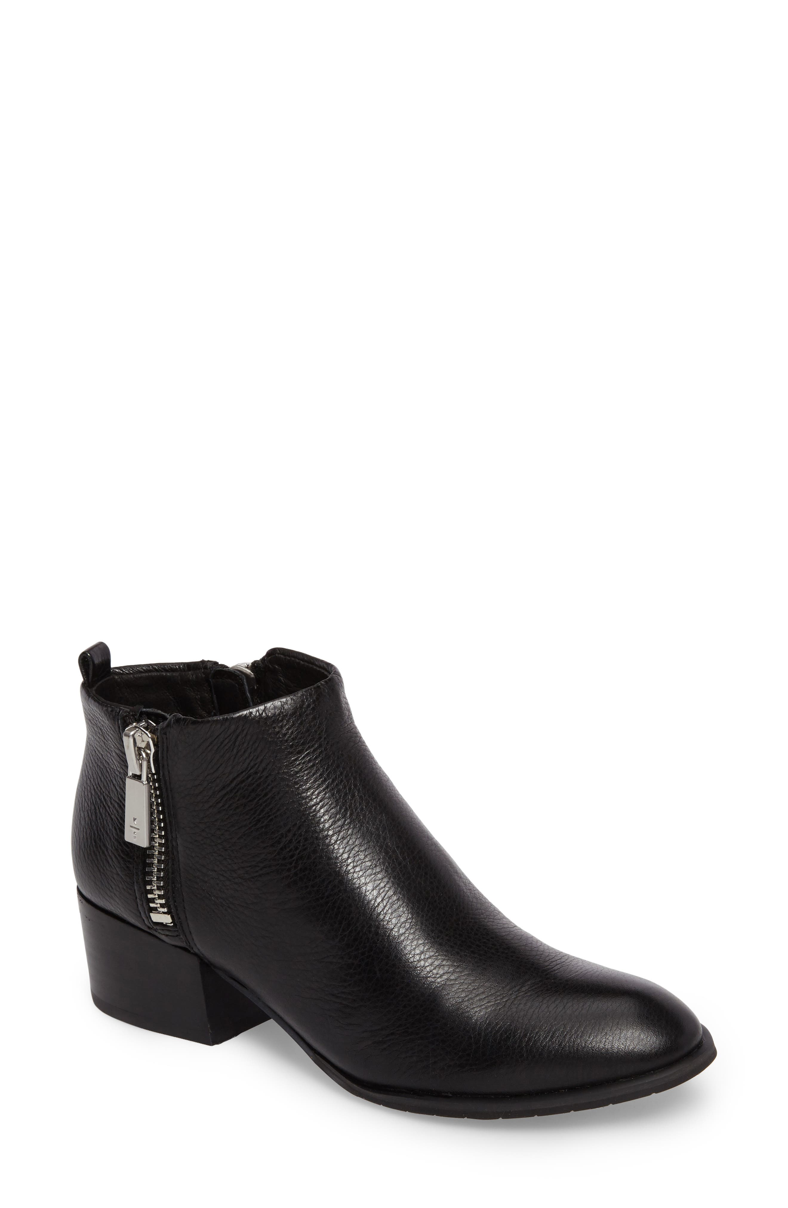 KENNETH COLE NEW YORK, Addy Bootie, Main thumbnail 1, color, 001