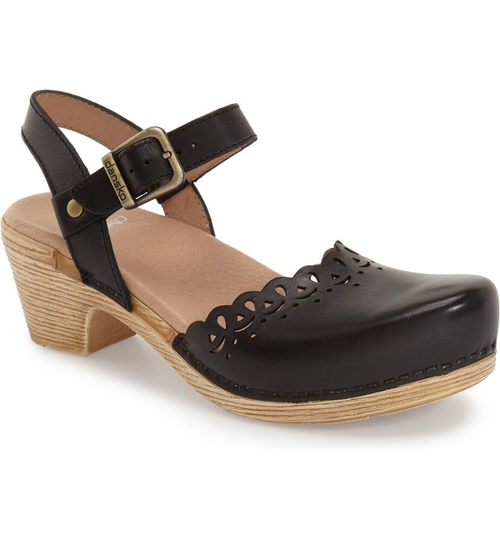 a55373d2bac Dansko  Marta  Ankle Strap Clog (Women)
