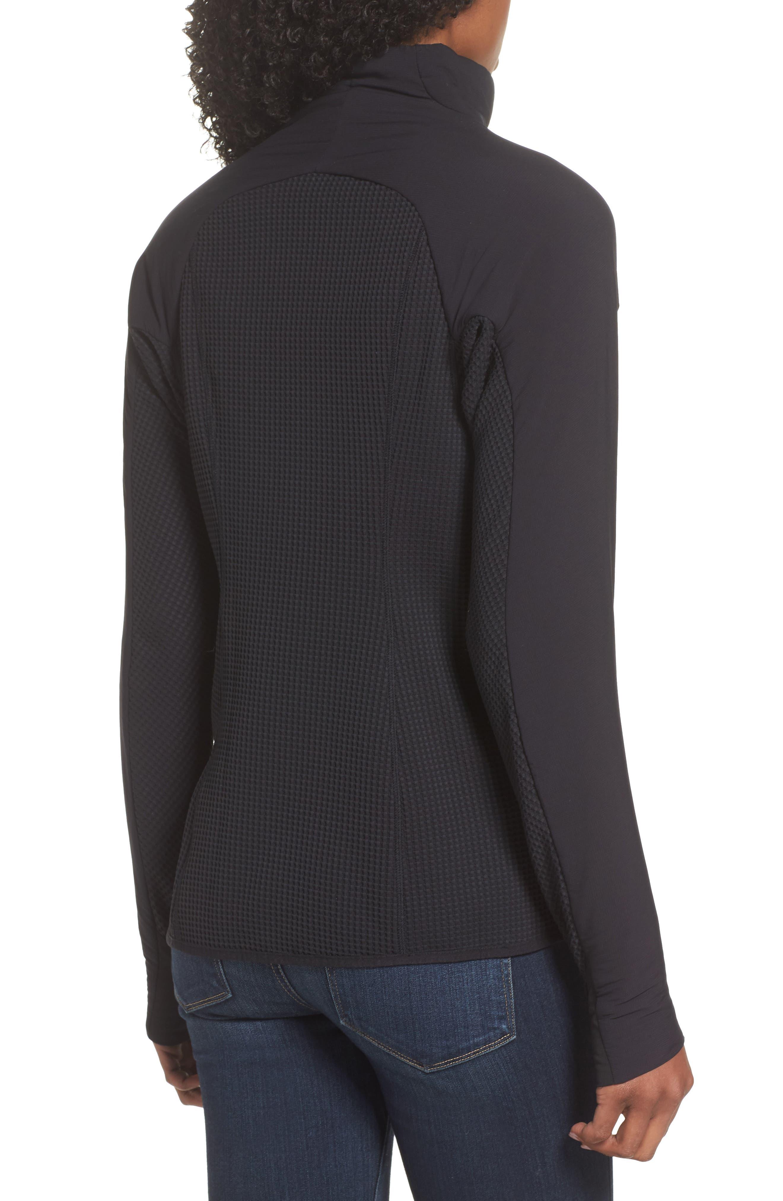 PATAGONIA, Nano-Air<sup>®</sup> Light Hybrid Jacket, Alternate thumbnail 2, color, BLACK