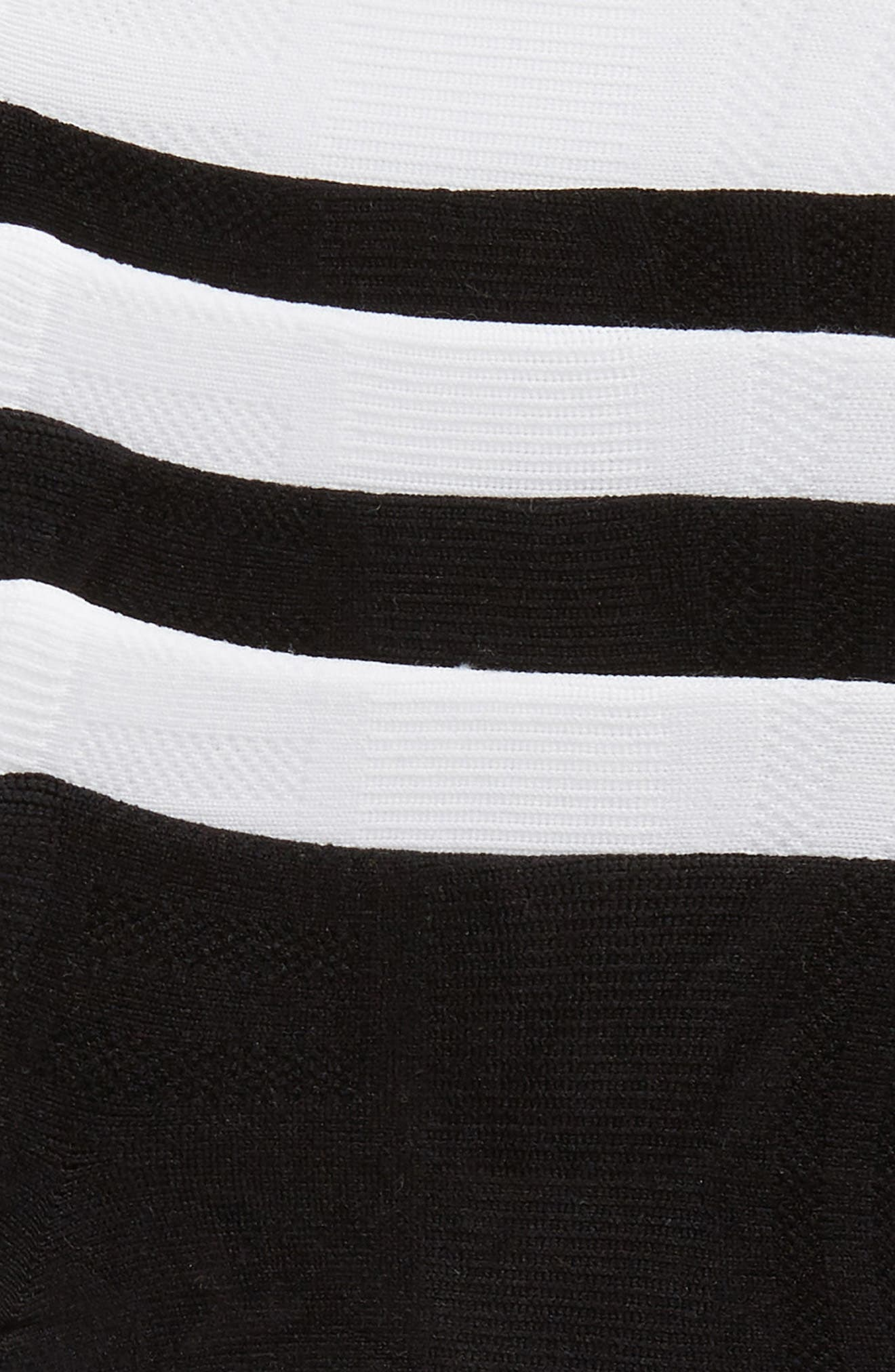 SOF SOLE, 6-Pack Low Cut Socks, Alternate thumbnail 2, color, WHITE/ BLACK