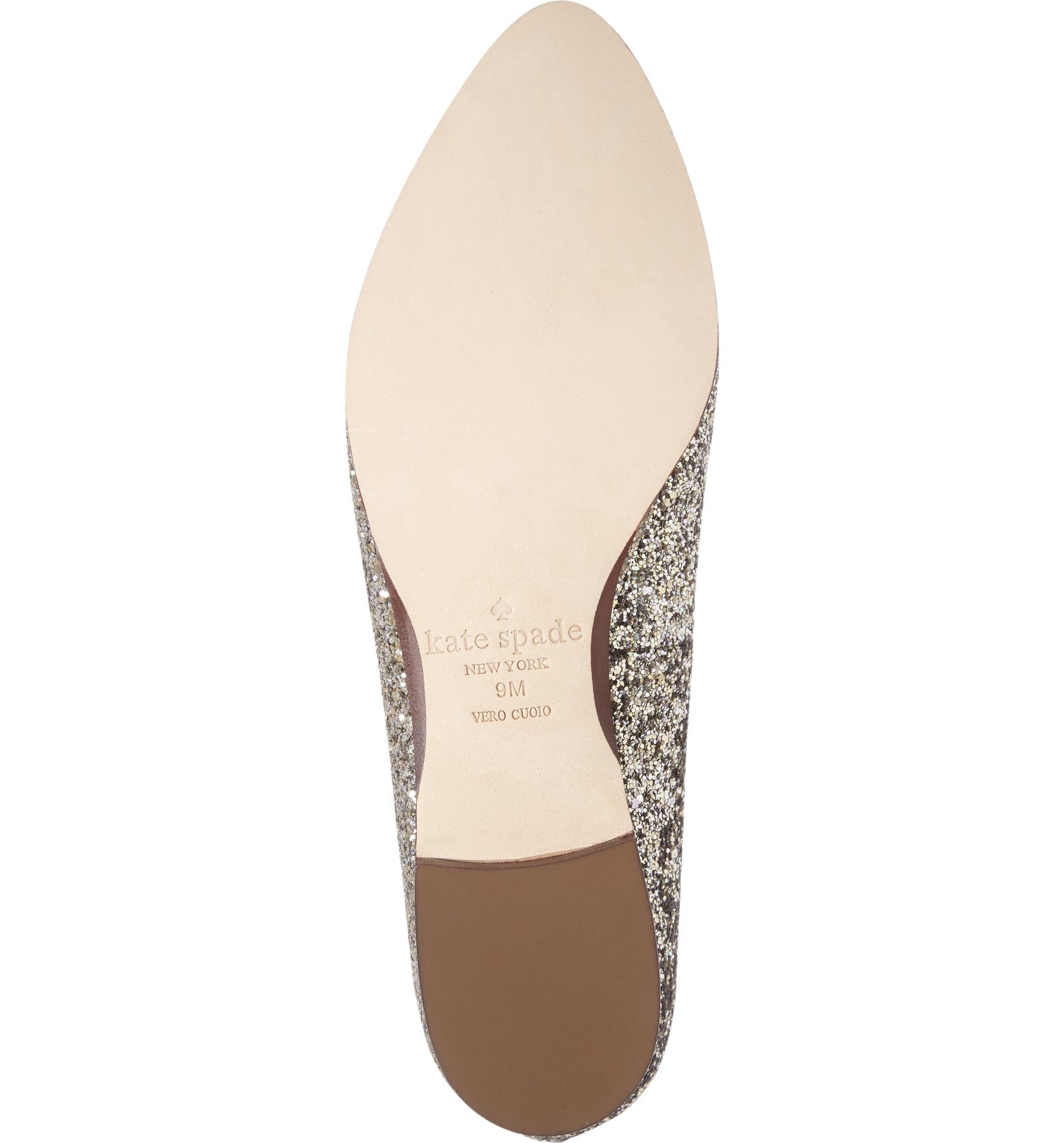 e85416eddc4 kate spade new york  calliope  glitter almond toe loafer (women ...