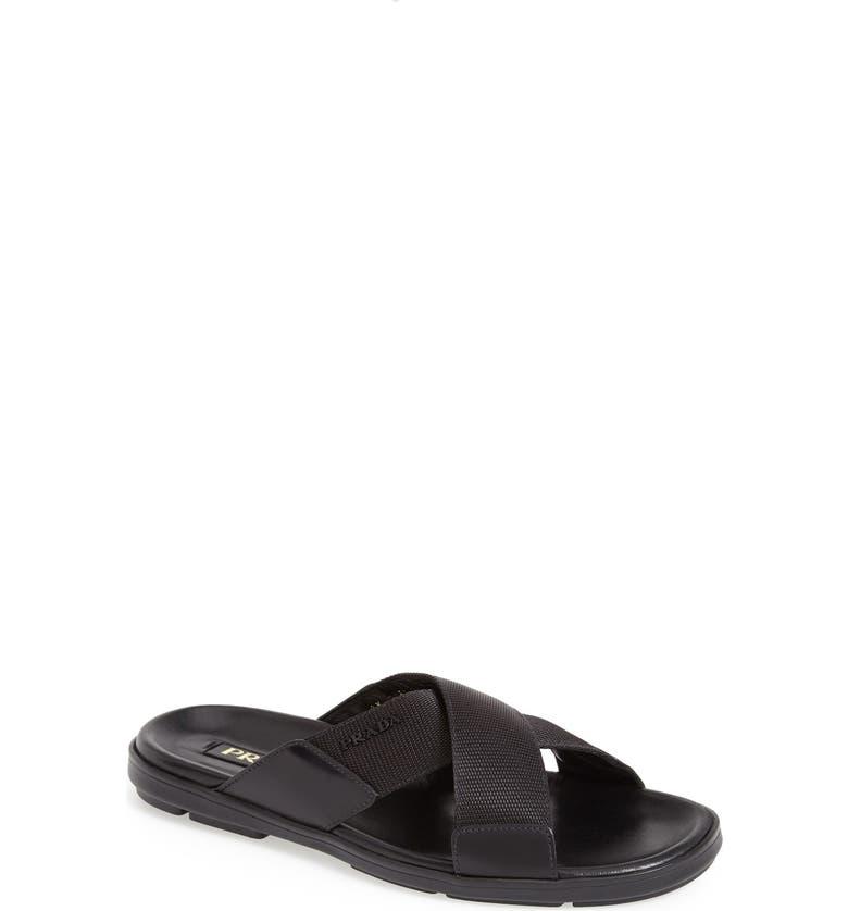 5f2383bcf35f Prada Slide Sandal (Men)