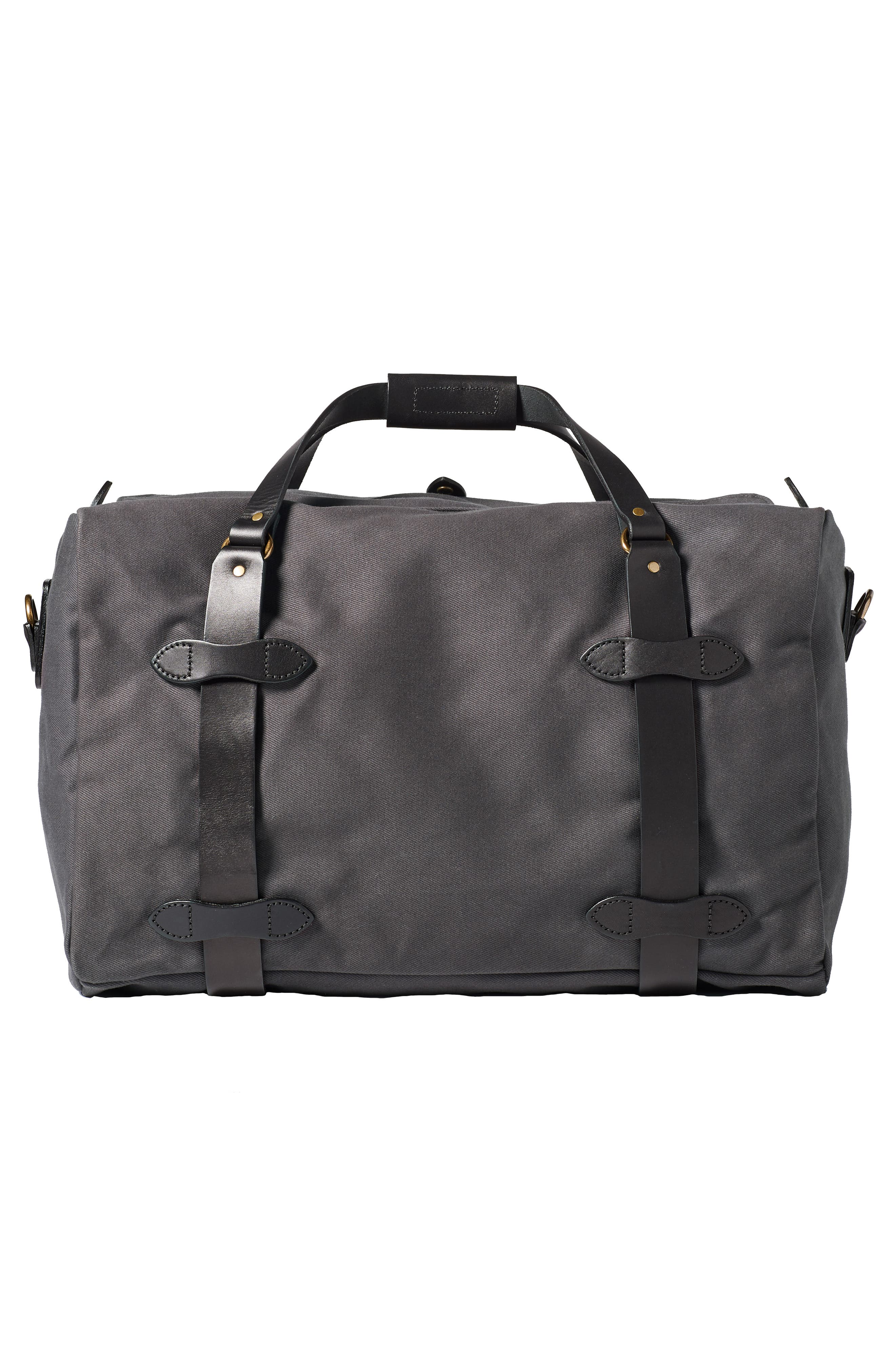 FILSON, Medium Duffle Bag, Alternate thumbnail 2, color, CINDER