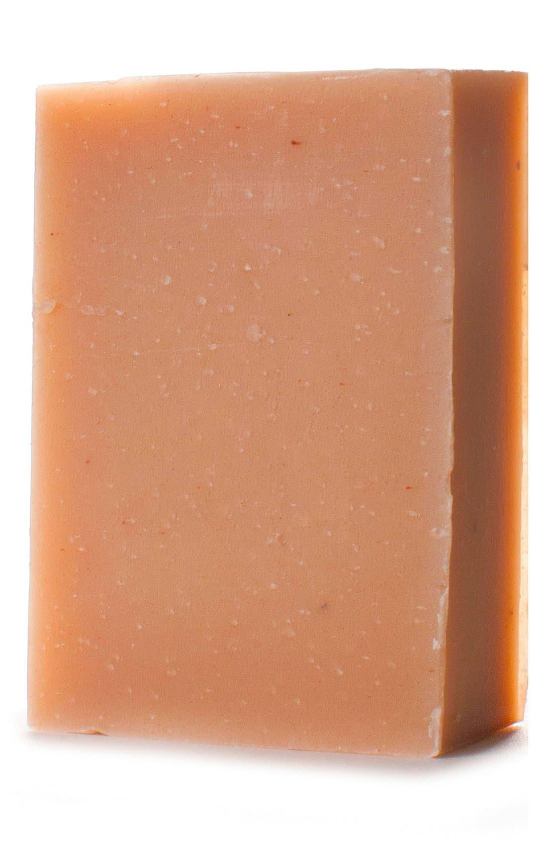 HERBIVORE BOTANICALS, Pink Clay Bar Soap, Alternate thumbnail 3, color, NONE