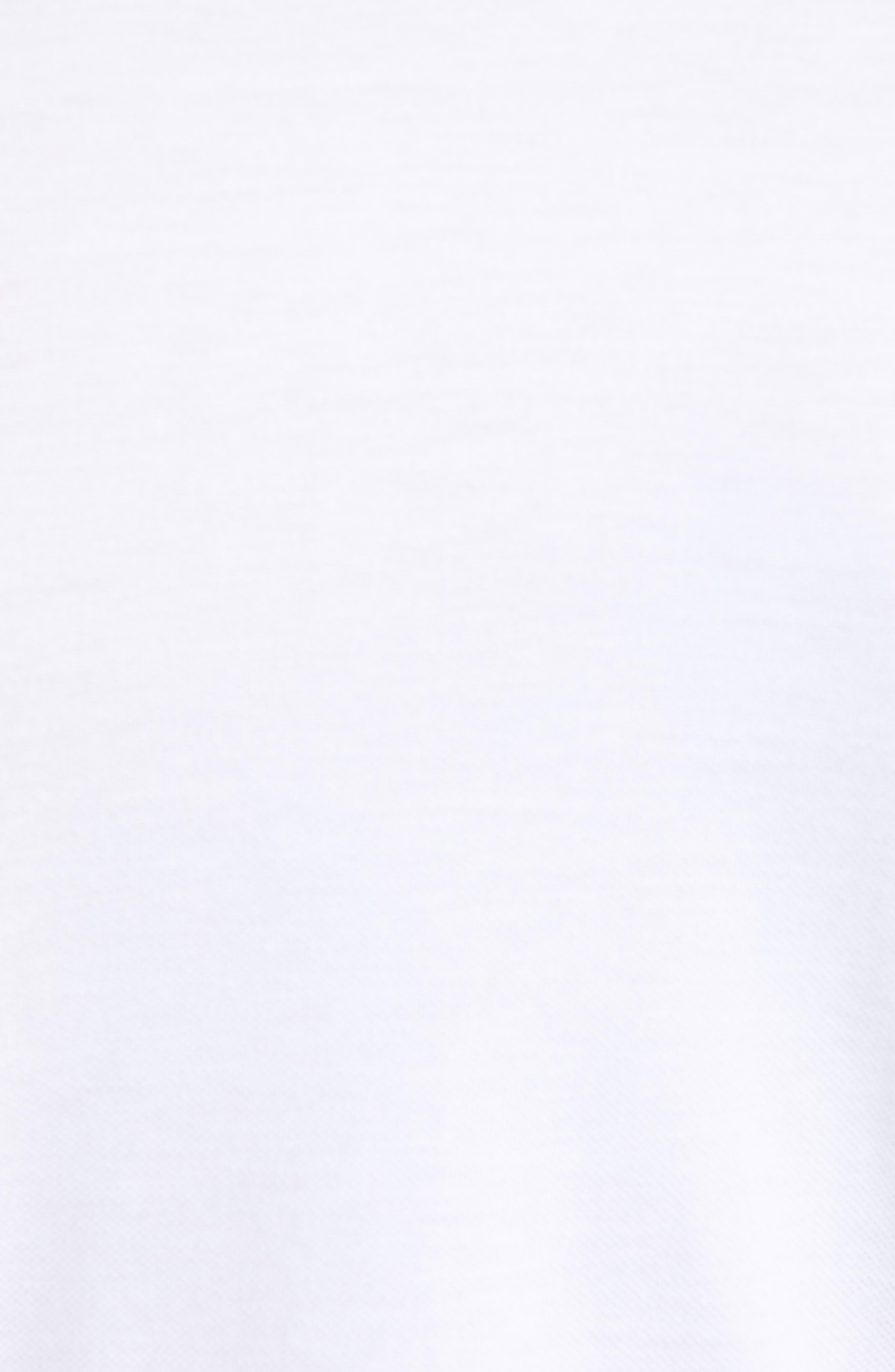 LACOSTE, Slim Fit Piqué Polo, Alternate thumbnail 5, color, WHITE