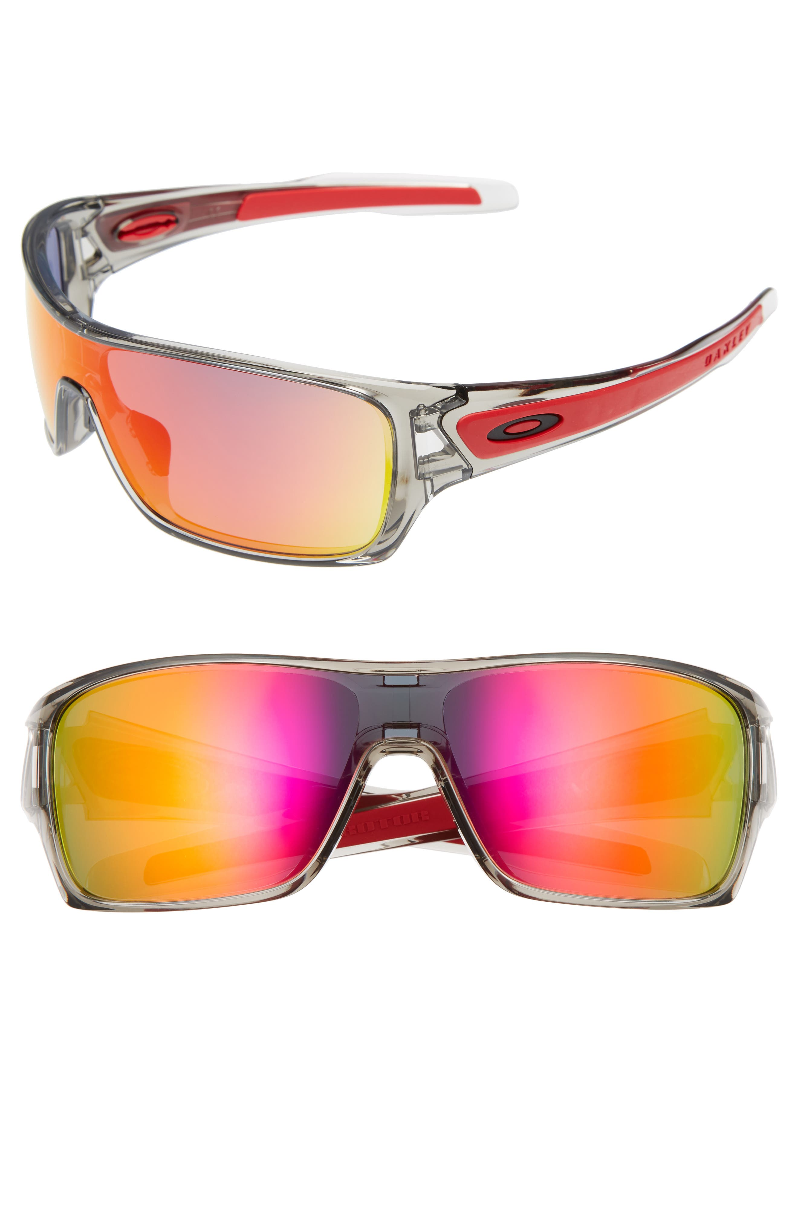 OAKLEY Turbine Rotor 70mm Sunglasses, Main, color, GREY