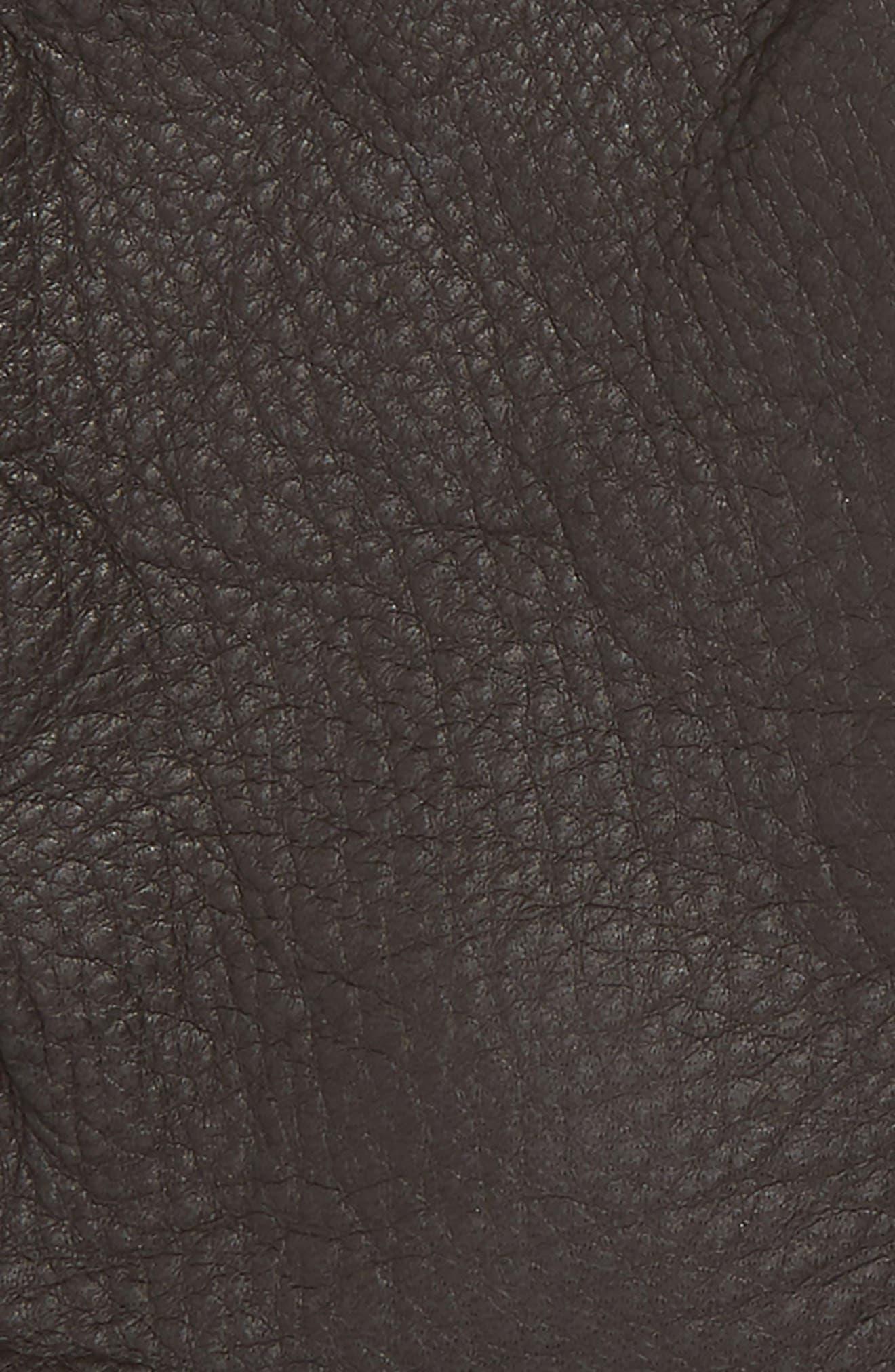 POLO RALPH LAUREN, Deerskin Gloves, Alternate thumbnail 3, color, CIRCUIT BROWN