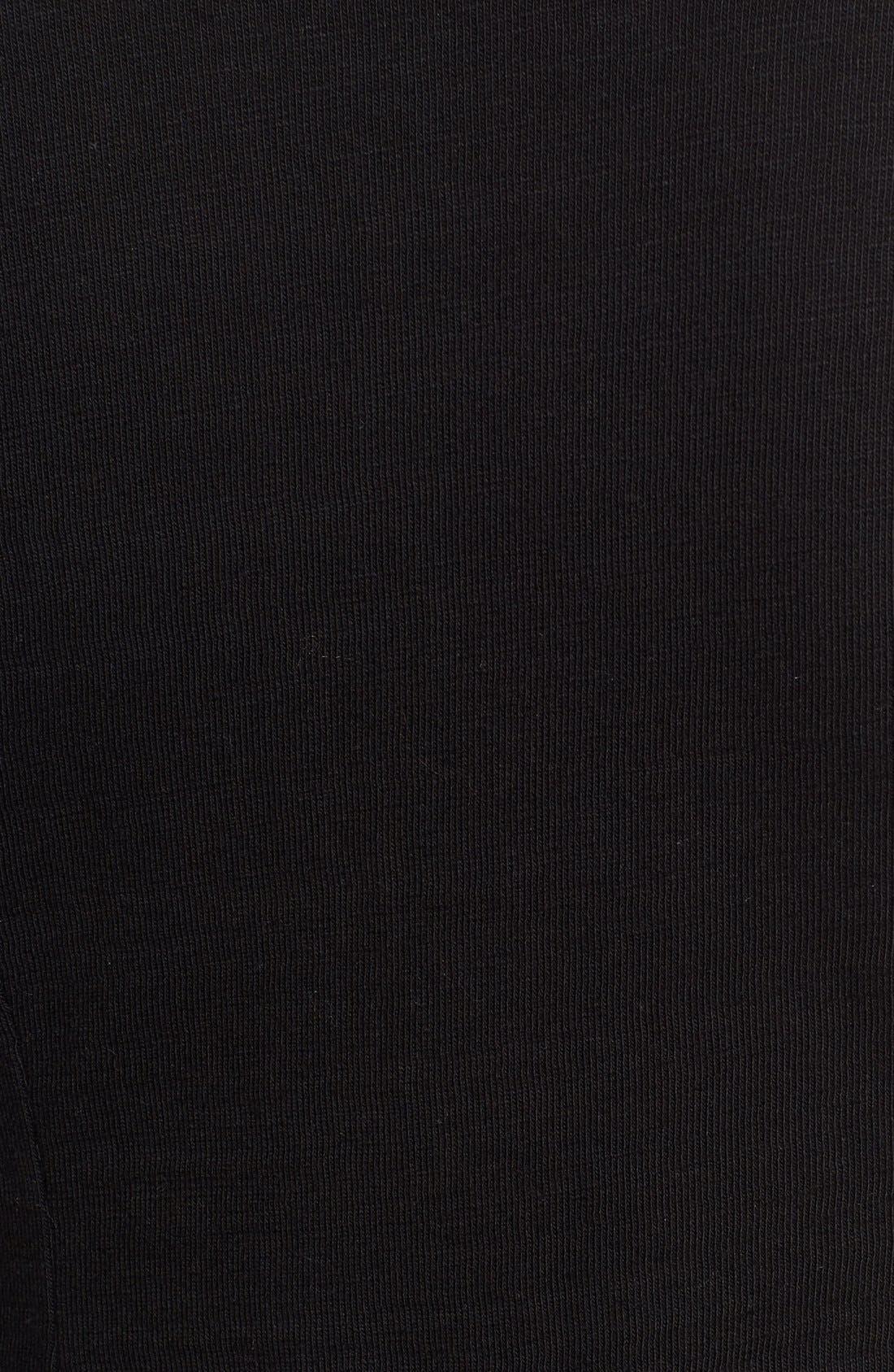 CASLON<SUP>®</SUP>, Knit One-Button Blazer, Alternate thumbnail 10, color, BLACK