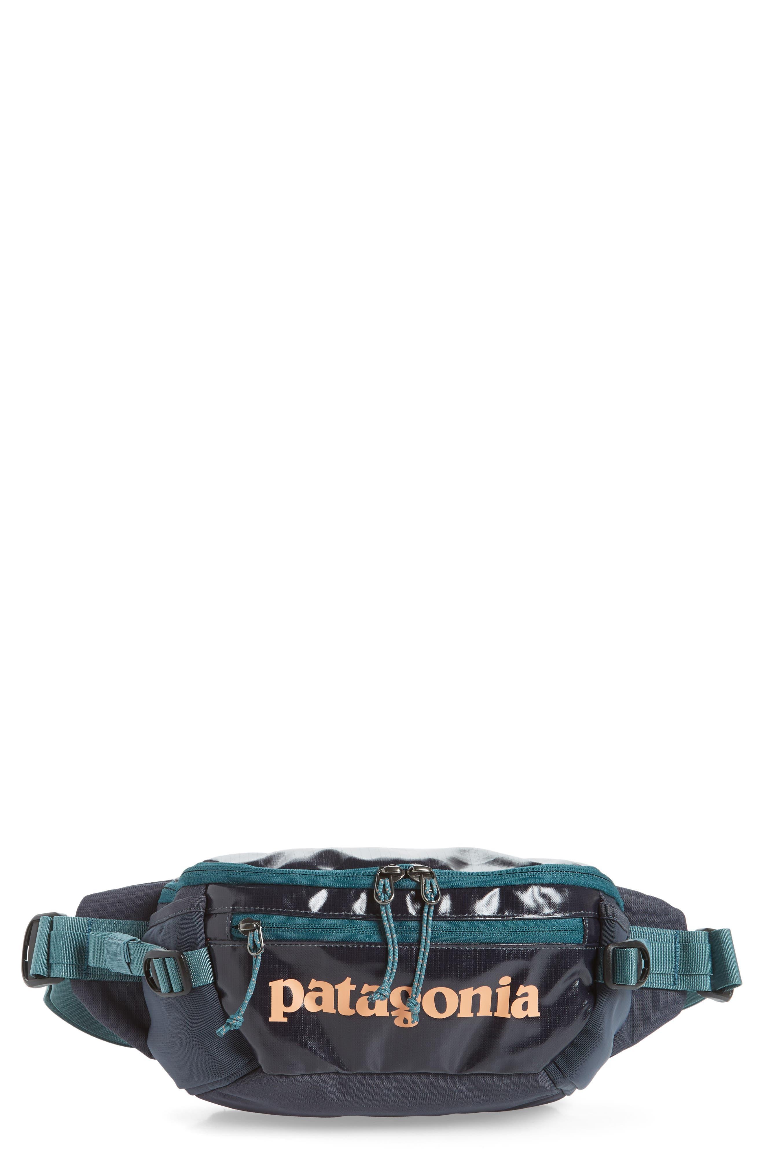 PATAGONIA Black Hole Waist Pack, Main, color, SMOLDER BLUE