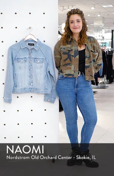 The Raglan Oversize Jean Jacket, sales video thumbnail