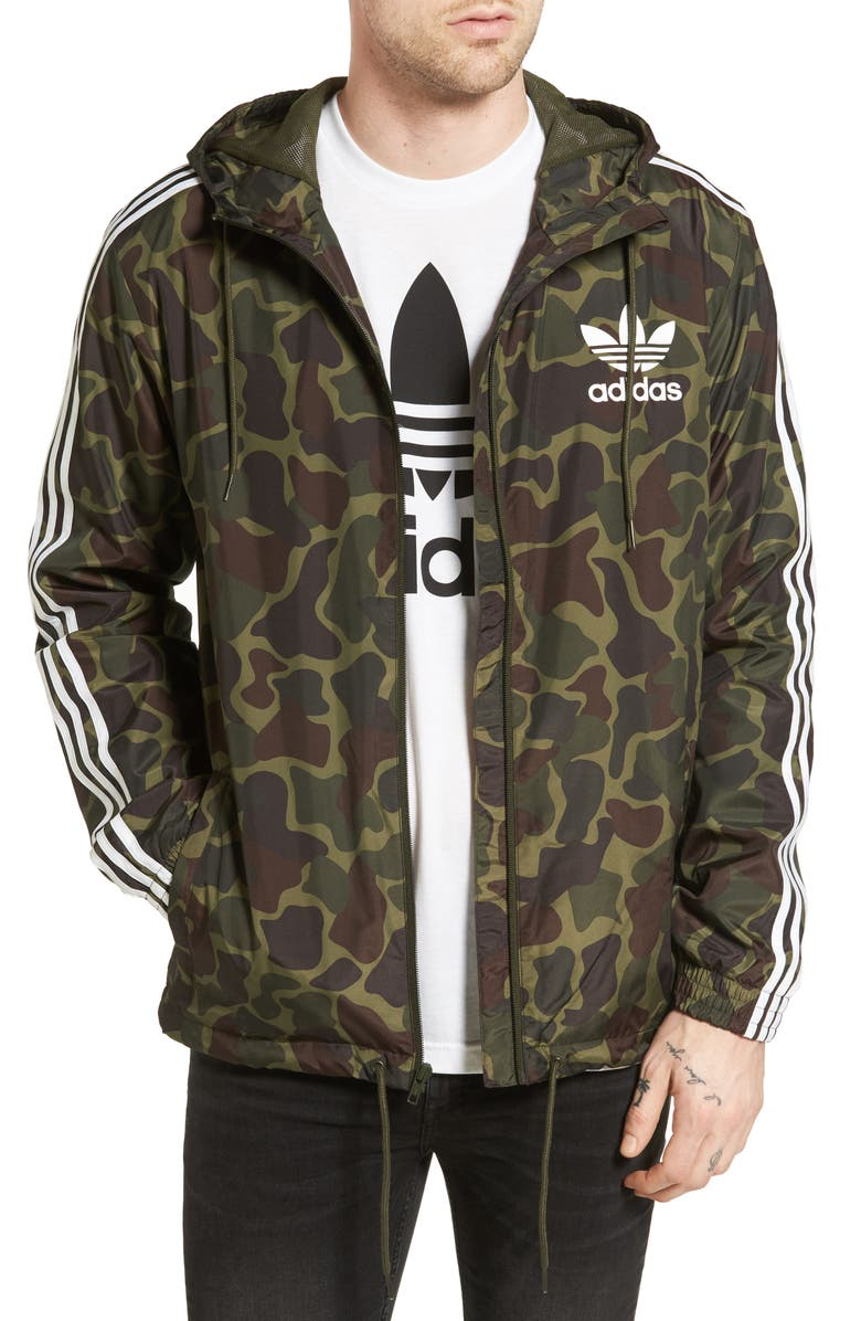 d3939f2c51ee adidas Originals Camo Windbreaker