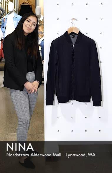 Salea Slim Fit Sweatshirt Jacket, sales video thumbnail