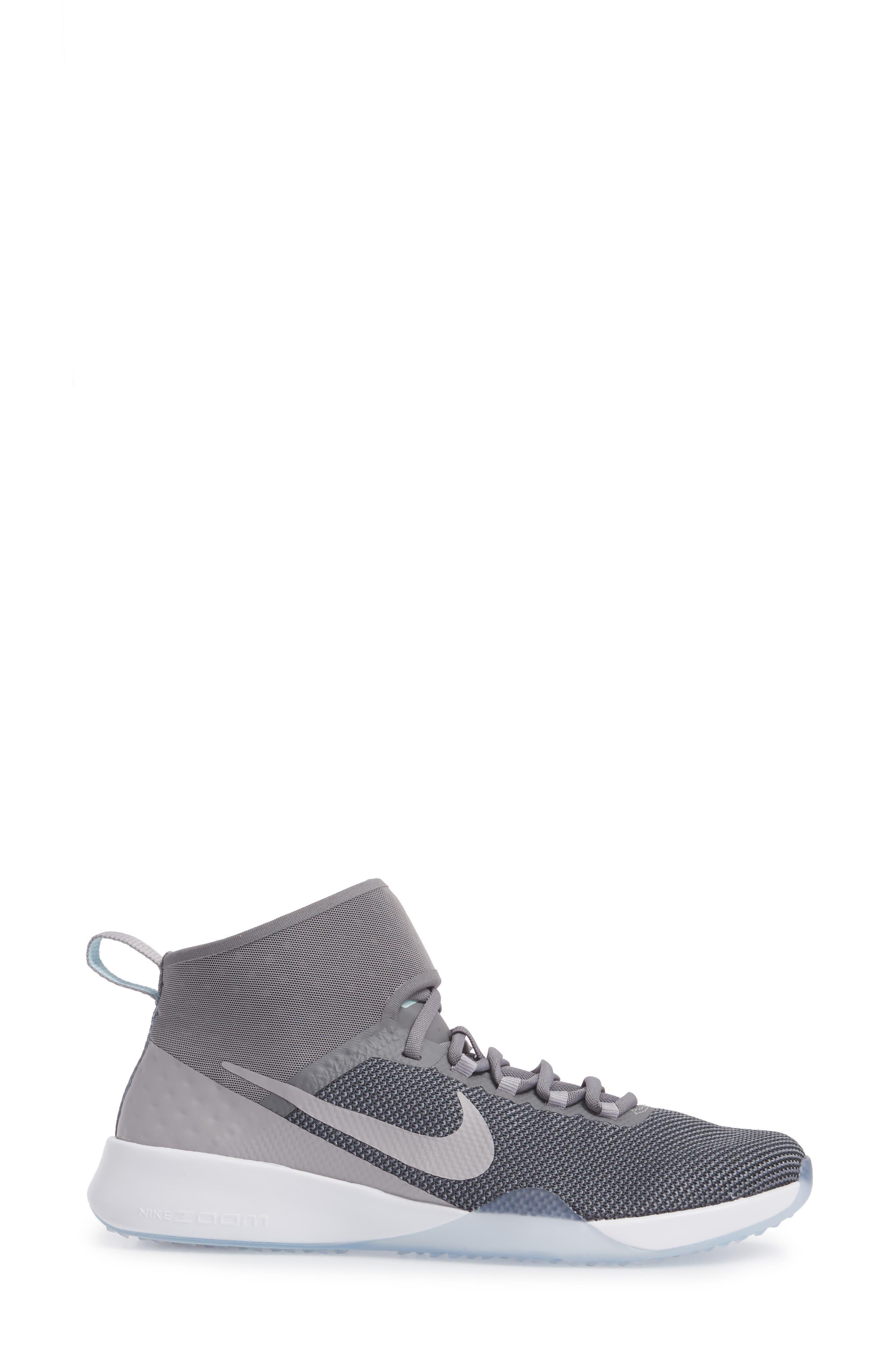 NIKE, NikeLab Air Zoom Strong 2 Training Shoe, Alternate thumbnail 3, color, 025