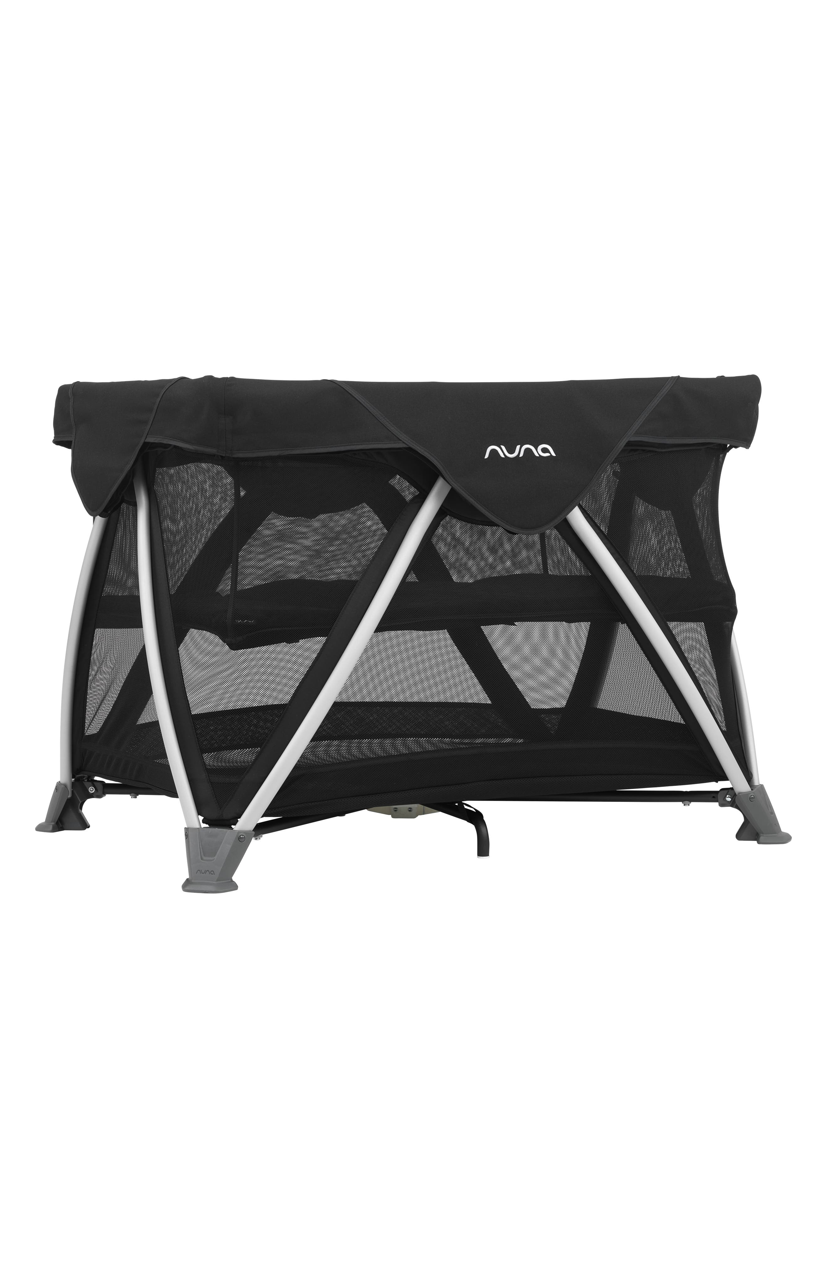 NUNA, SENA<sup>®</sup> Aire Travel Crib, Alternate thumbnail 6, color, CAVIAR