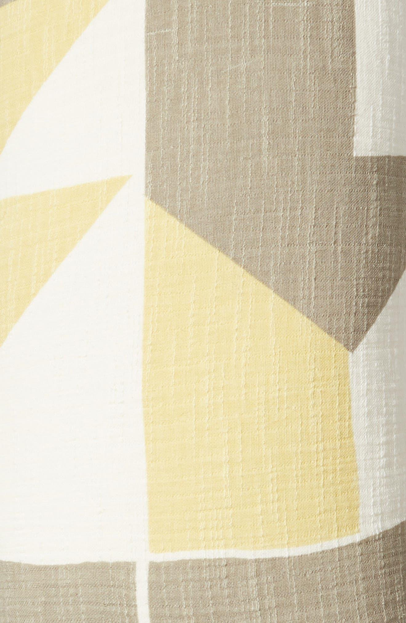 TREASURE & BOND, Print Accent Pillow, Alternate thumbnail 3, color, OLIVE NILE MULTI