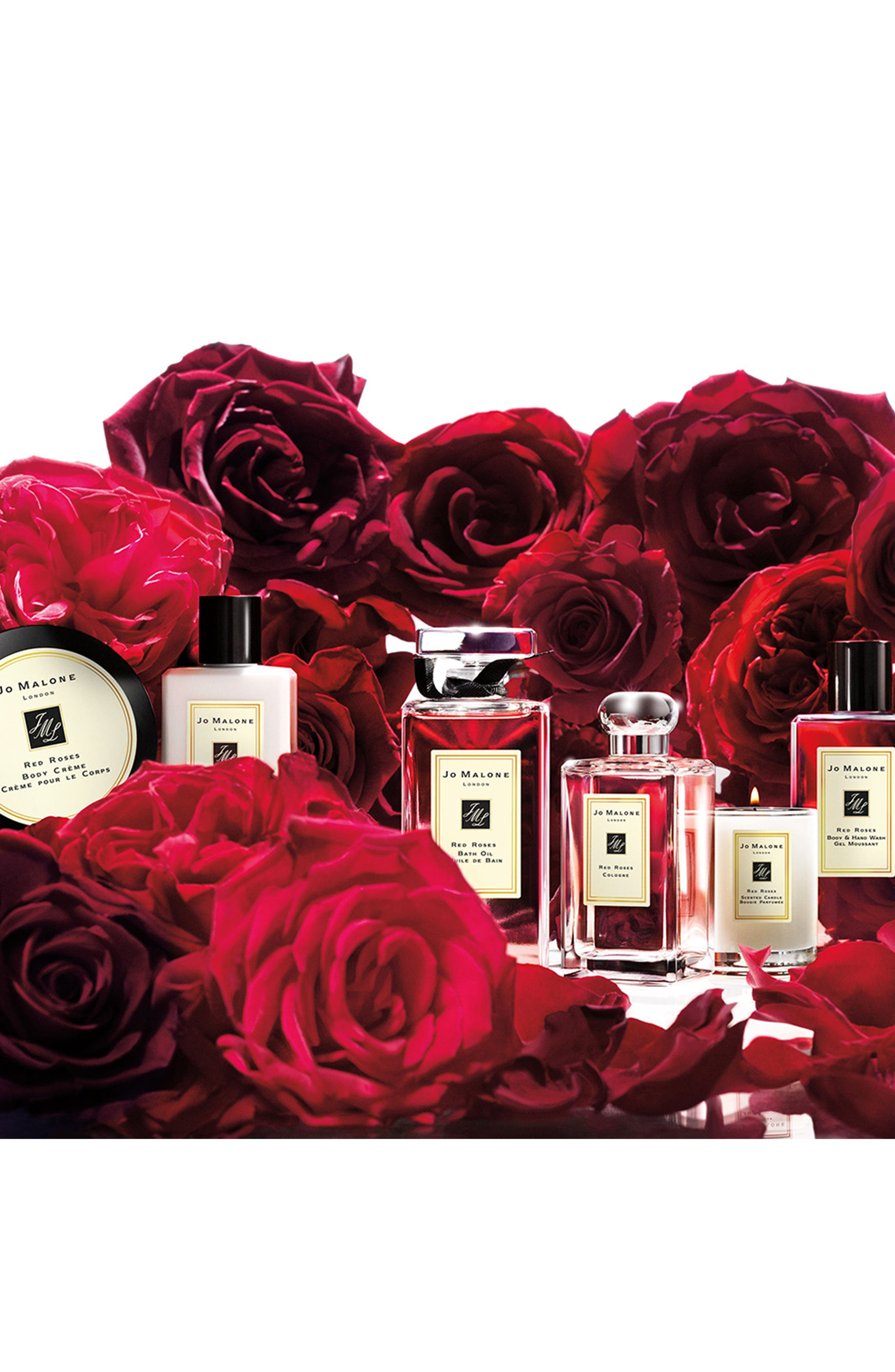 JO MALONE LONDON<SUP>™</SUP>, Red Roses Bath Oil, Alternate thumbnail 5, color, 000