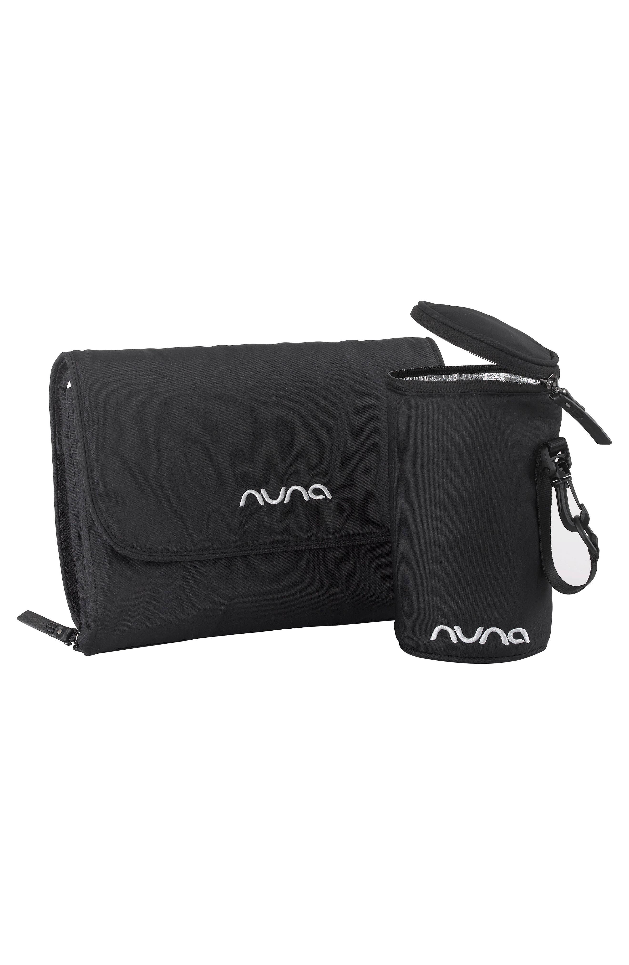 NUNA, Convertible Diaper Bag, Alternate thumbnail 6, color, CAVIAR