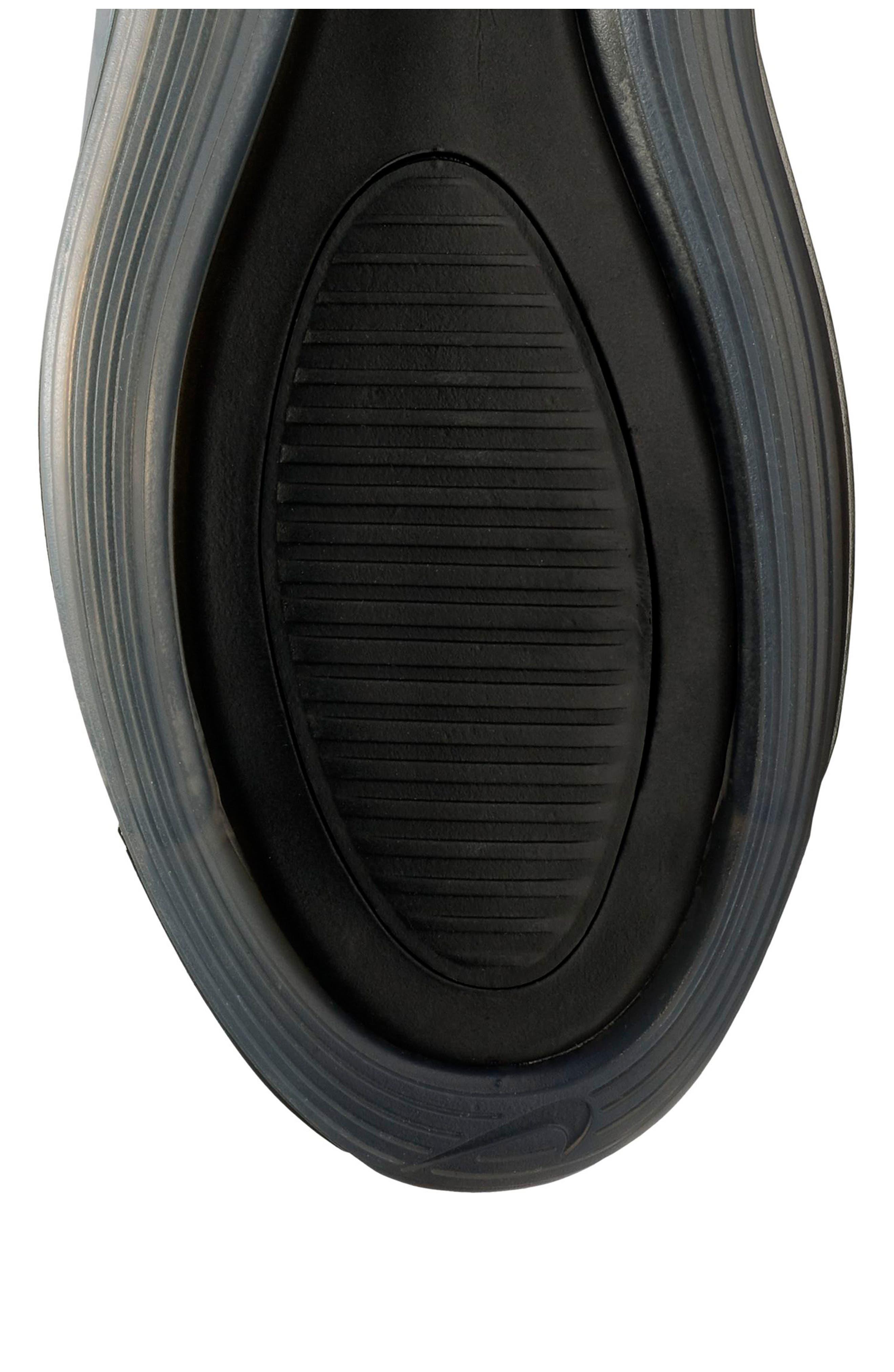 NIKE, Air Max 720 Sneaker, Alternate thumbnail 7, color, BLACK/ FUCHSIA/ ANTHRACITE