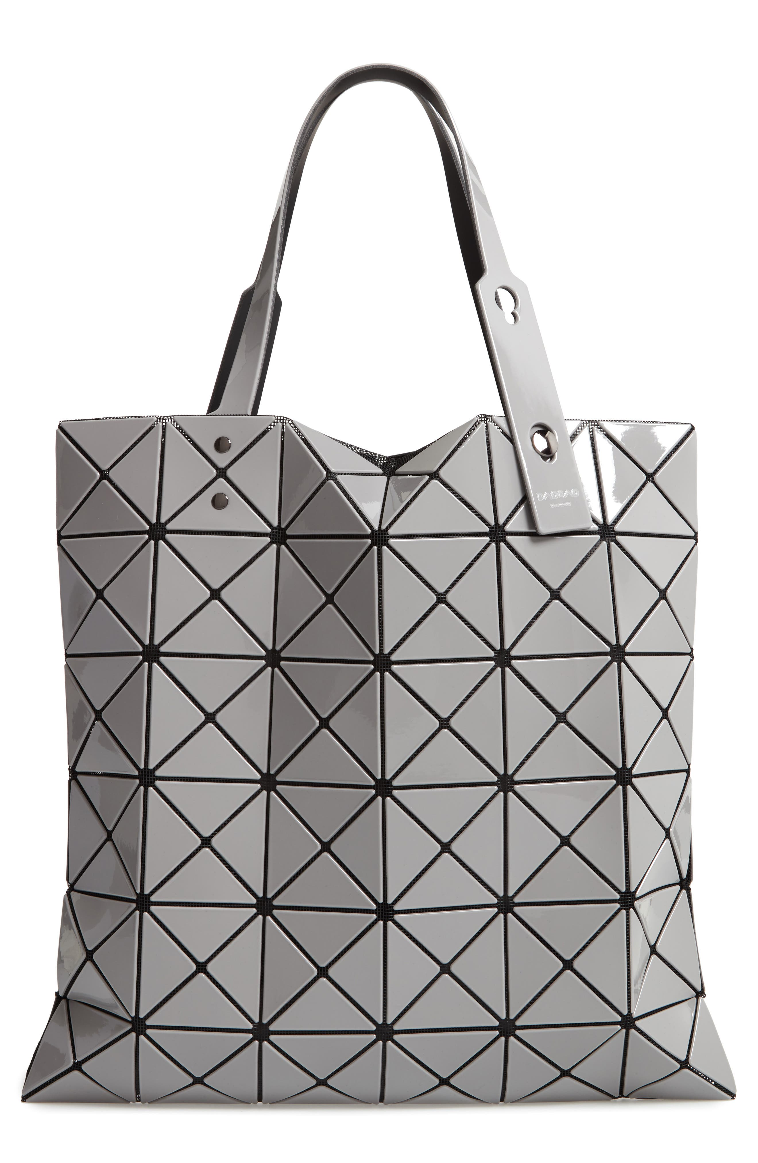 BAO BAO ISSEY MIYAKE Lucent Two-Tone Tote Bag, Main, color, 020