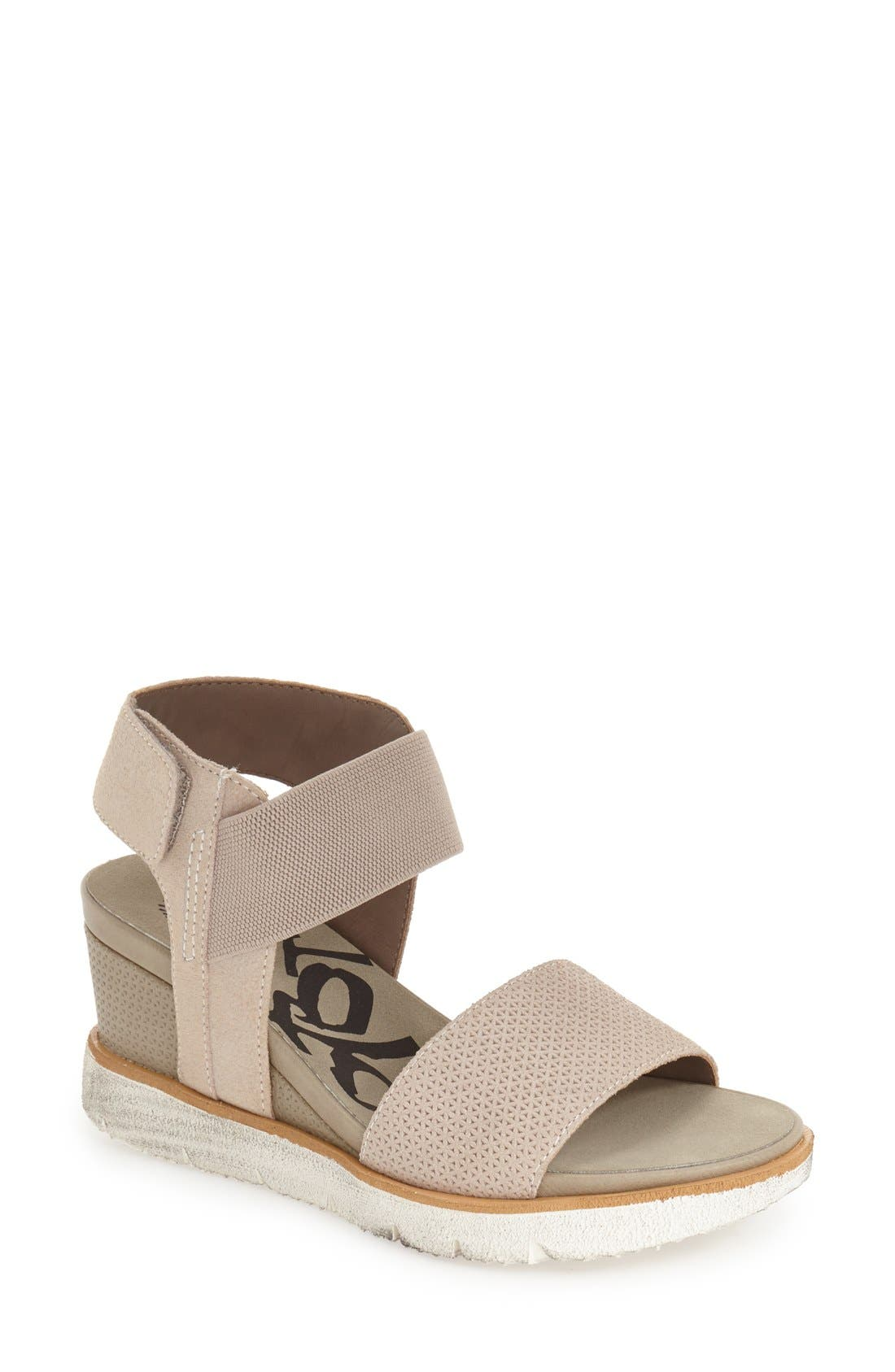OTBT 'Cosmos' Wedge Sandal, Main, color, 020