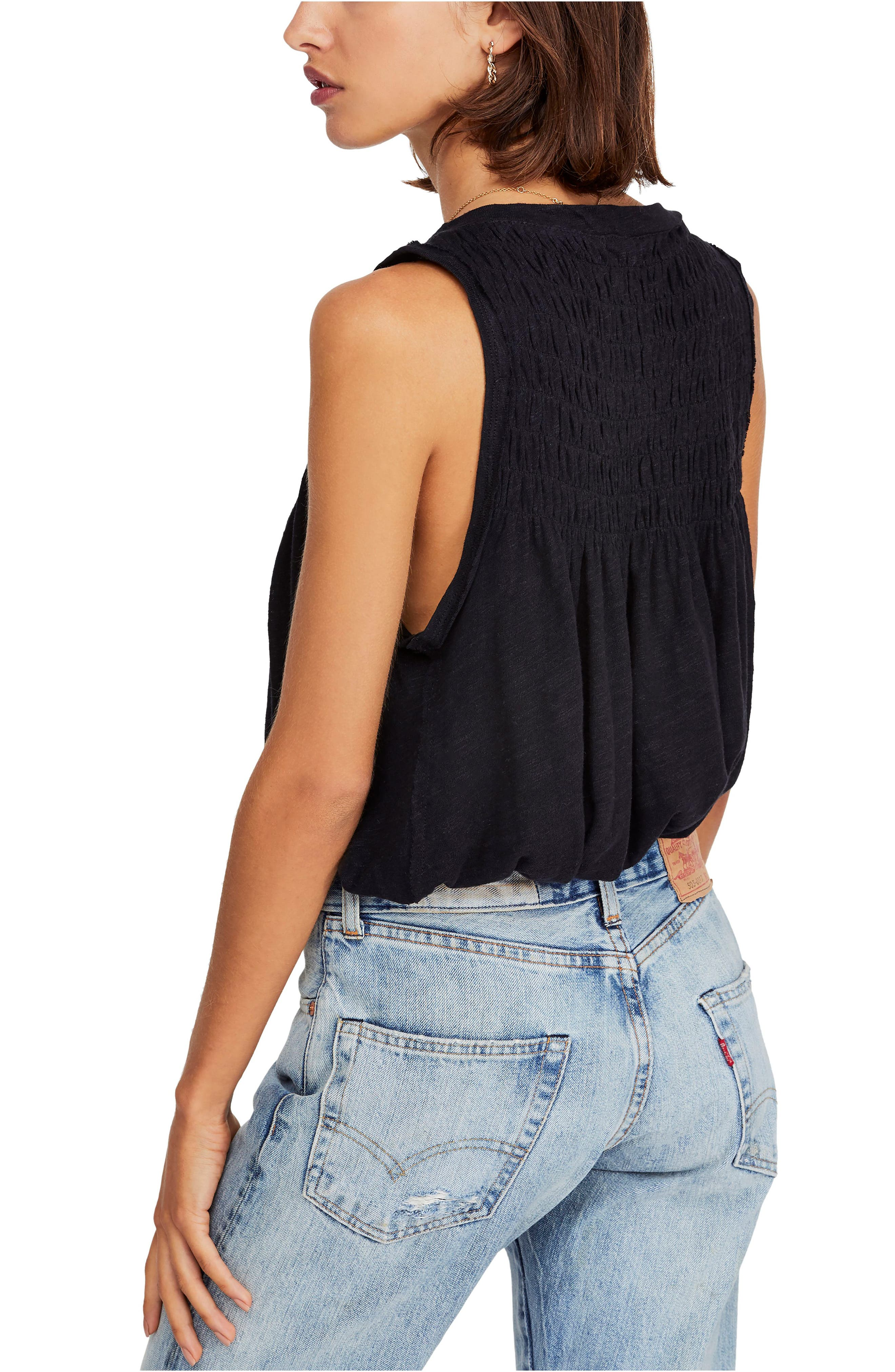 FREE PEOPLE, New to Town Tank, Alternate thumbnail 2, color, 001