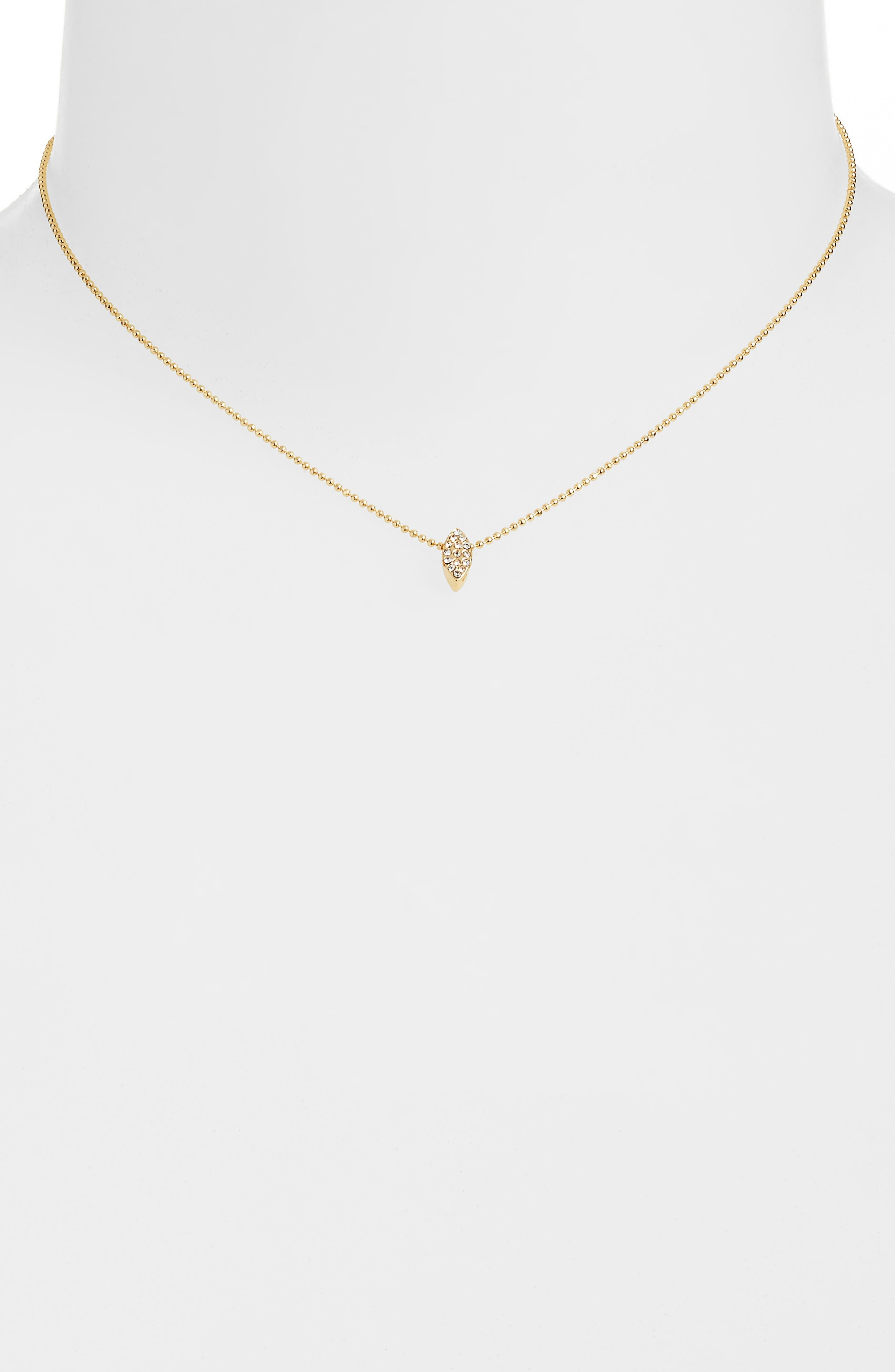 UNCOMMON JAMES BY KRISTIN CAVALLARI, Uncommon James Just a Touch Necklace, Alternate thumbnail 2, color, 710