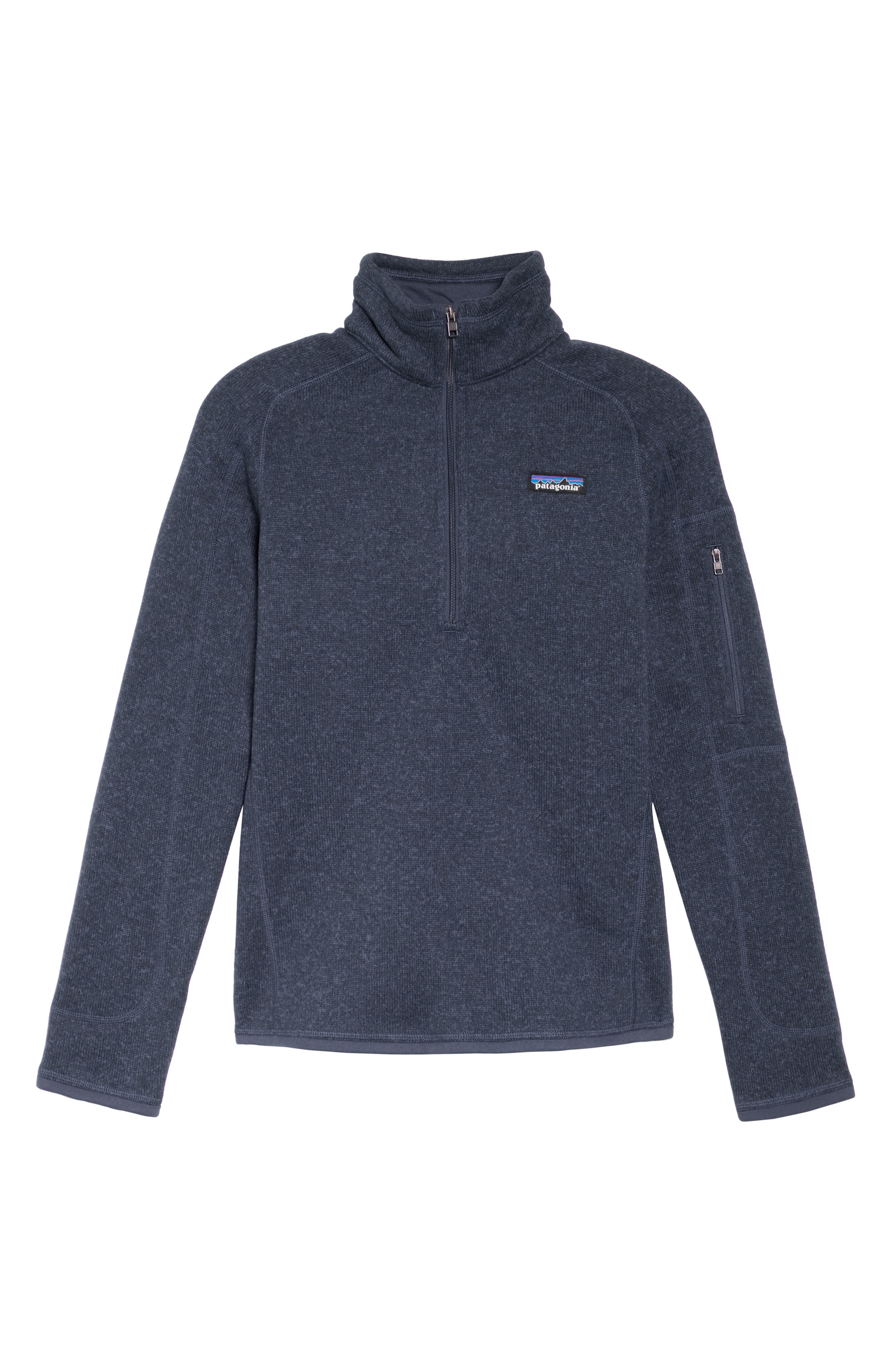 PATAGONIA, Better Sweater Zip Pullover, Alternate thumbnail 2, color, CLASSIC NAVY