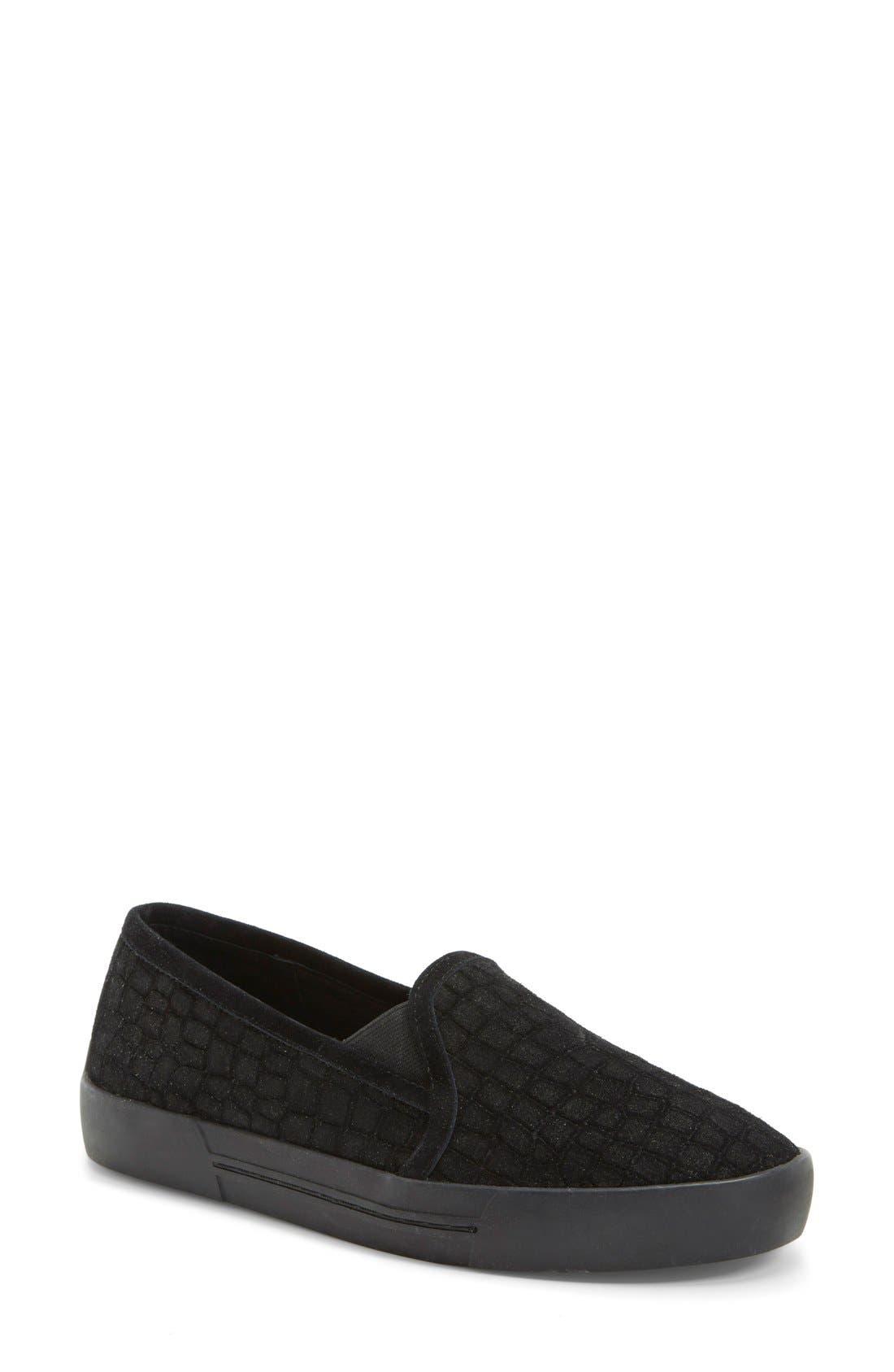 JOIE, 'Huxley' Slip-On Sneaker, Main thumbnail 1, color, 001