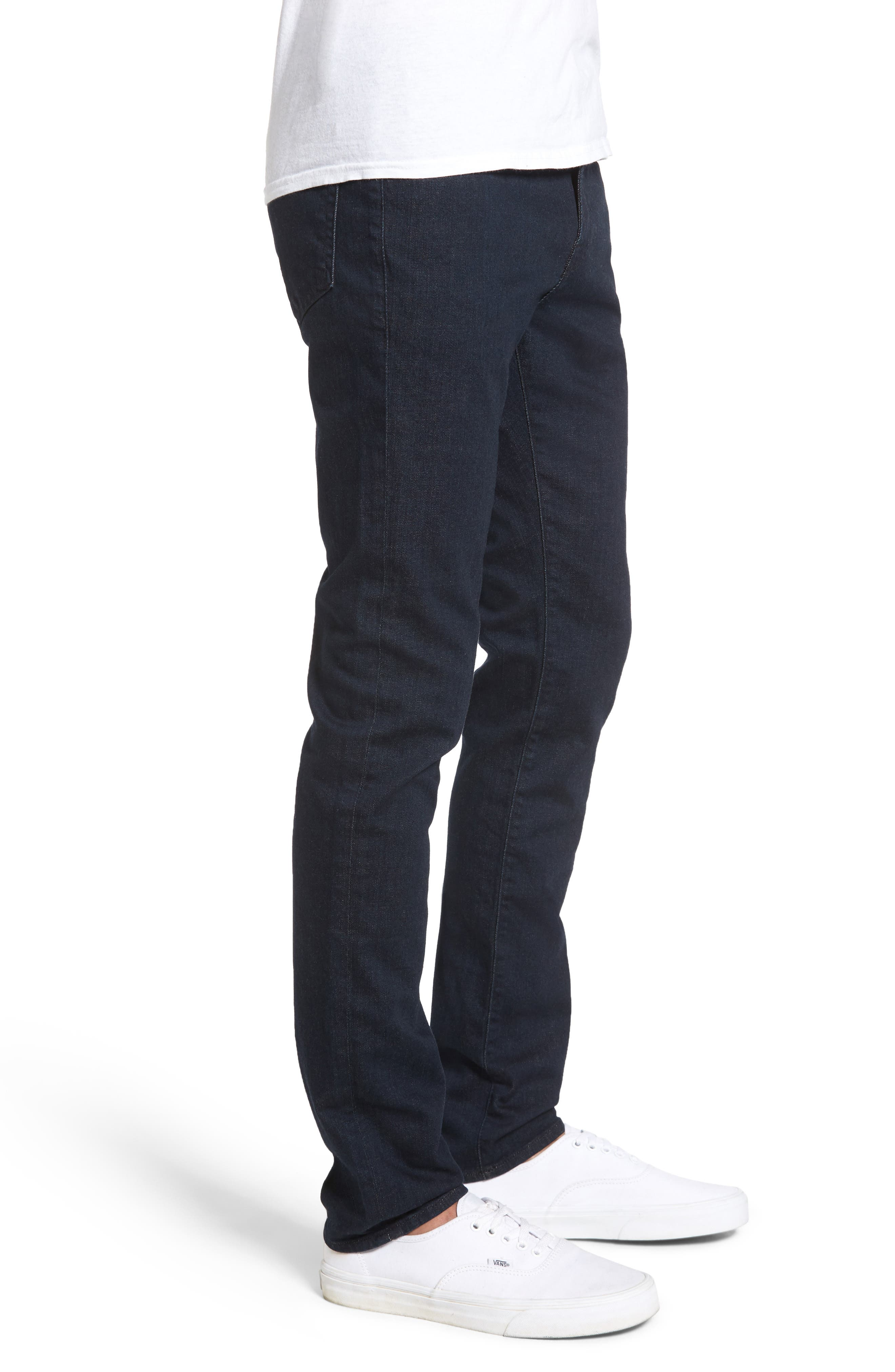 FRAME, L'Homme Skinny Fit Jeans, Alternate thumbnail 3, color, EDISON