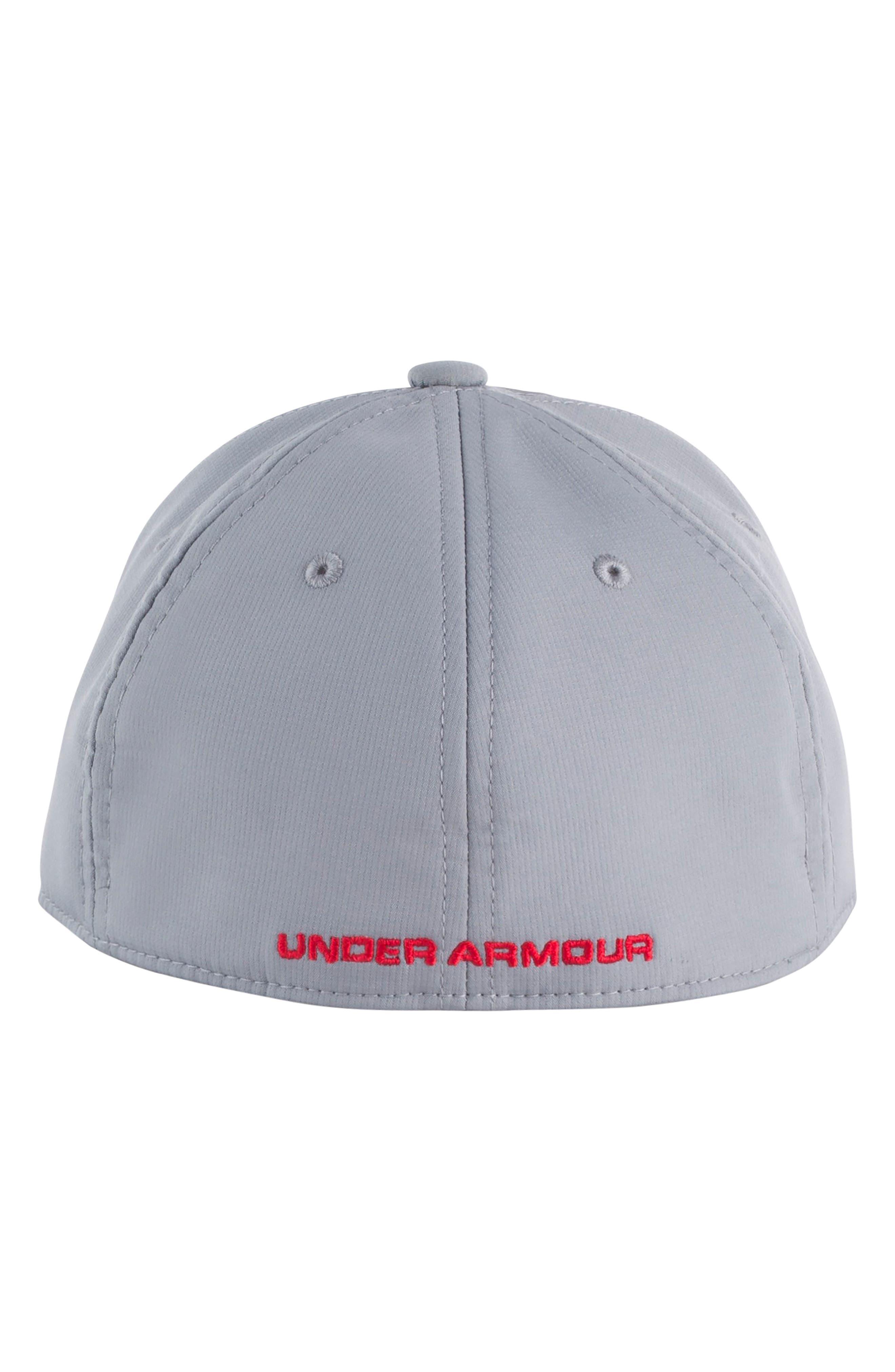 UNDER ARMOUR, Billboard Hat, Alternate thumbnail 2, color, STEEL