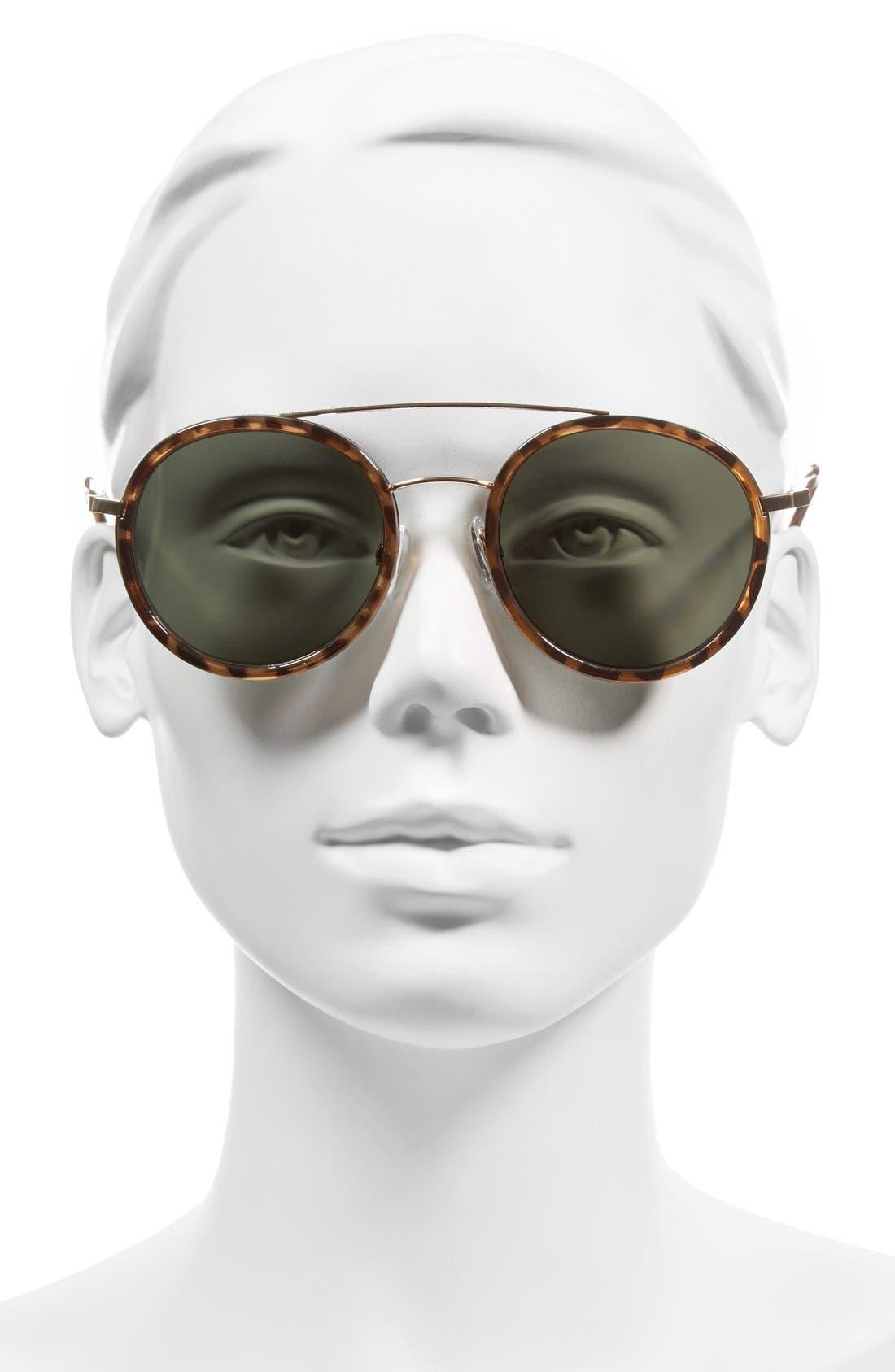 BP., Retro 50mm Round Sunglasses, Alternate thumbnail 2, color, 210