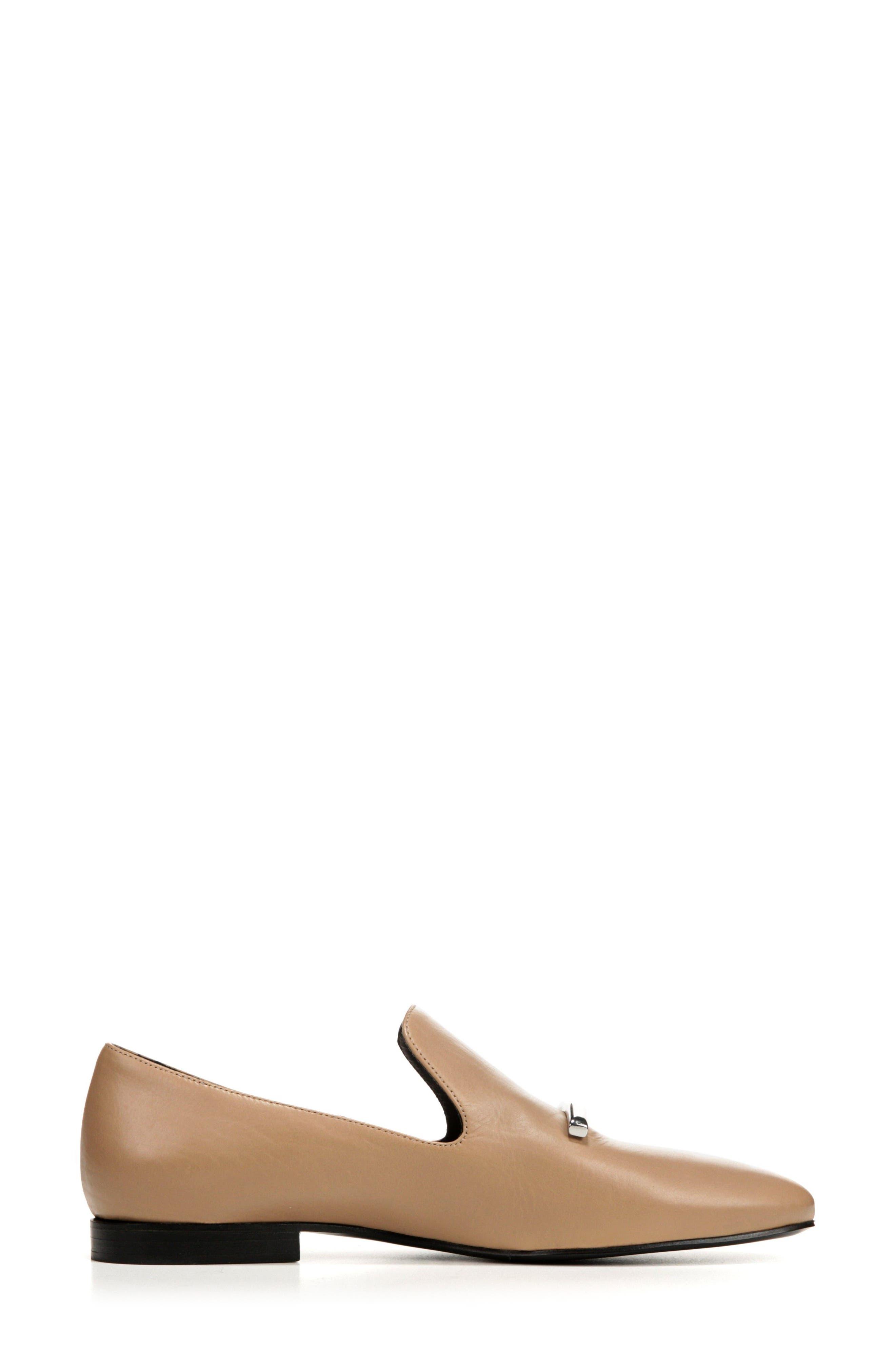 VIA SPIGA, Tallis Flat Loafer, Alternate thumbnail 3, color, 250