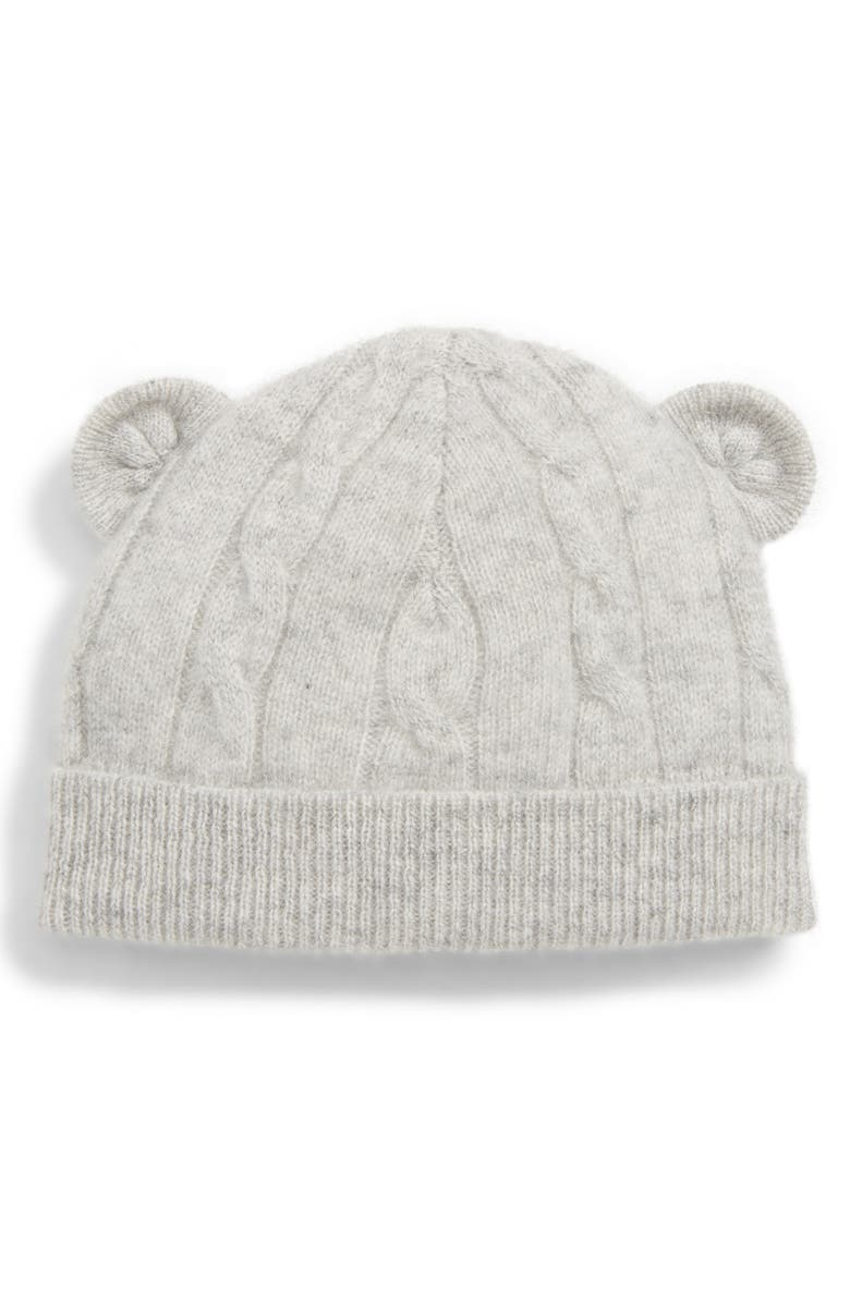 192ebfc97d2 Nordstrom Signature Cable Knit Cashmere Beanie (Baby)