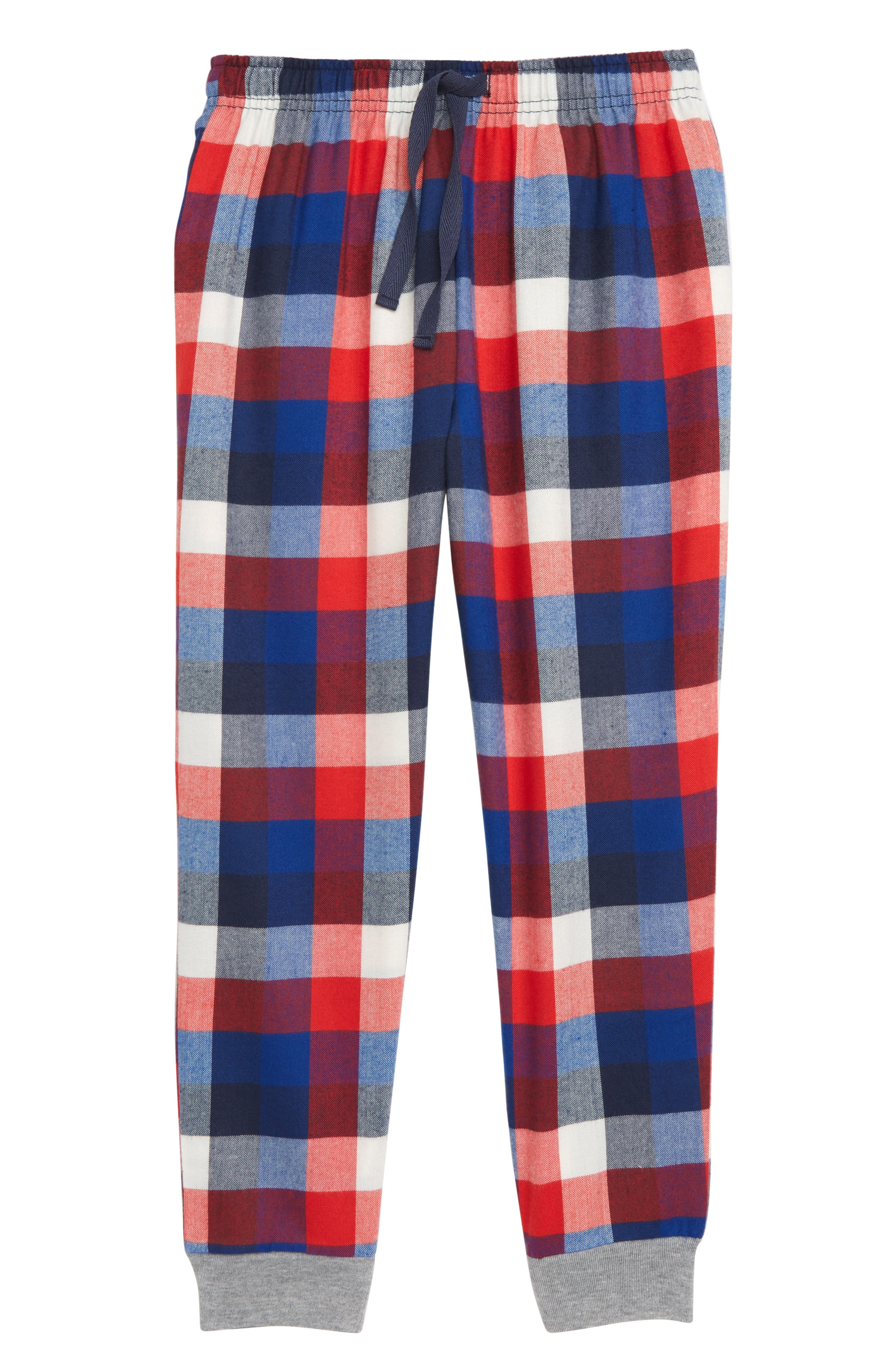 Boys Tucker  Tate Flannel Jogger Pants Size L (1012)  Red