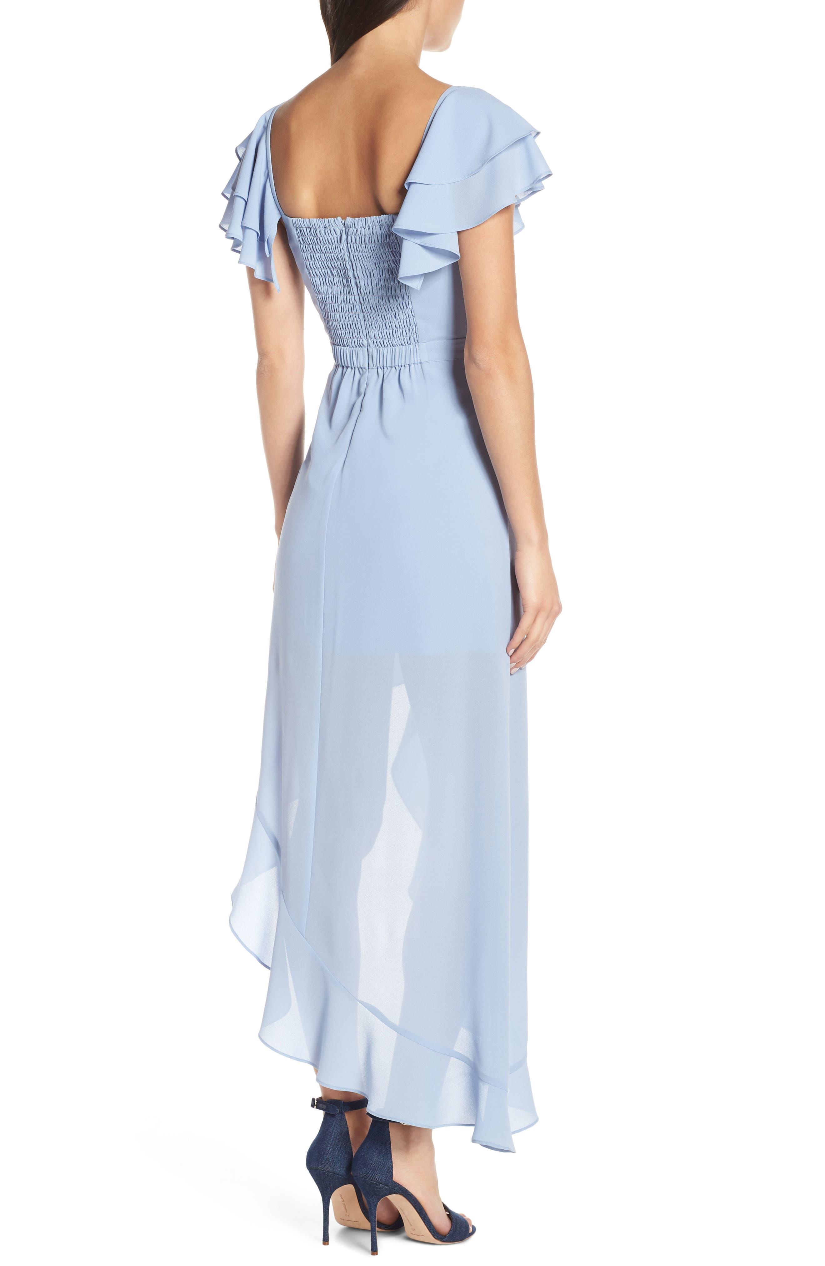 ALI & JAY, Terrace Time Asymmetrical Maxi Dress, Alternate thumbnail 2, color, 400