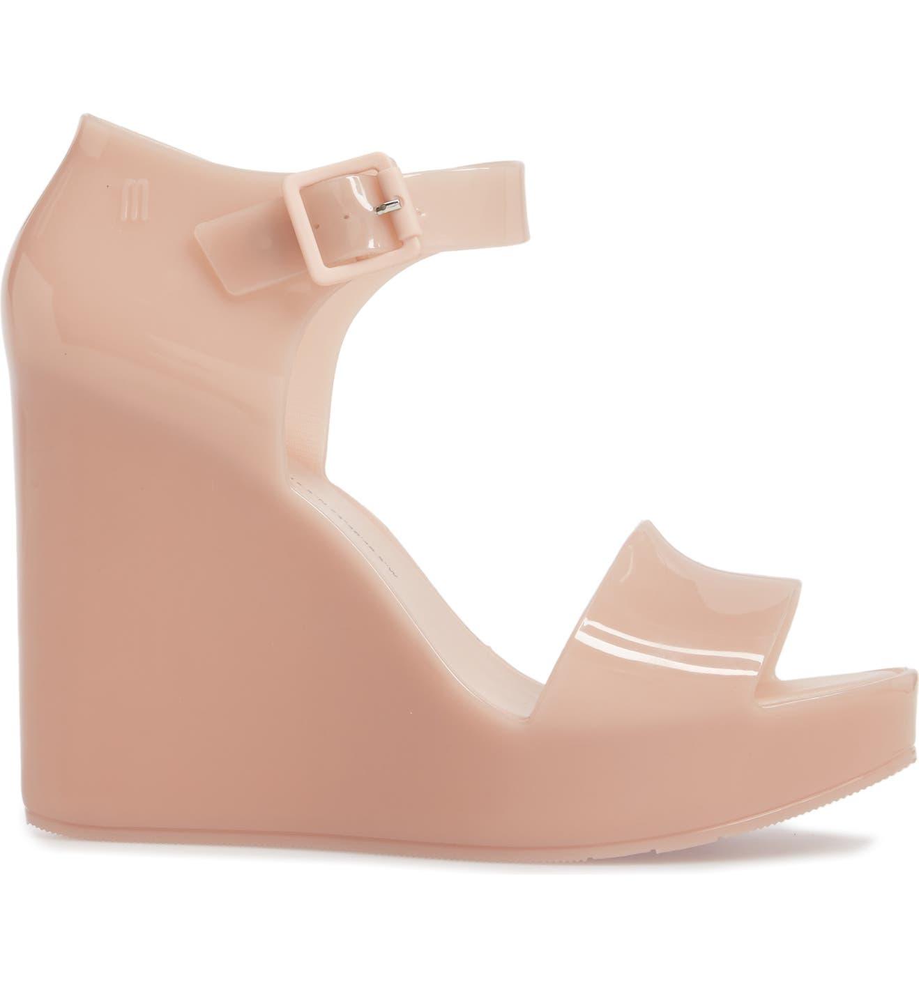 35e7b762c55 Melissa Mar Platform Wedge Sandal