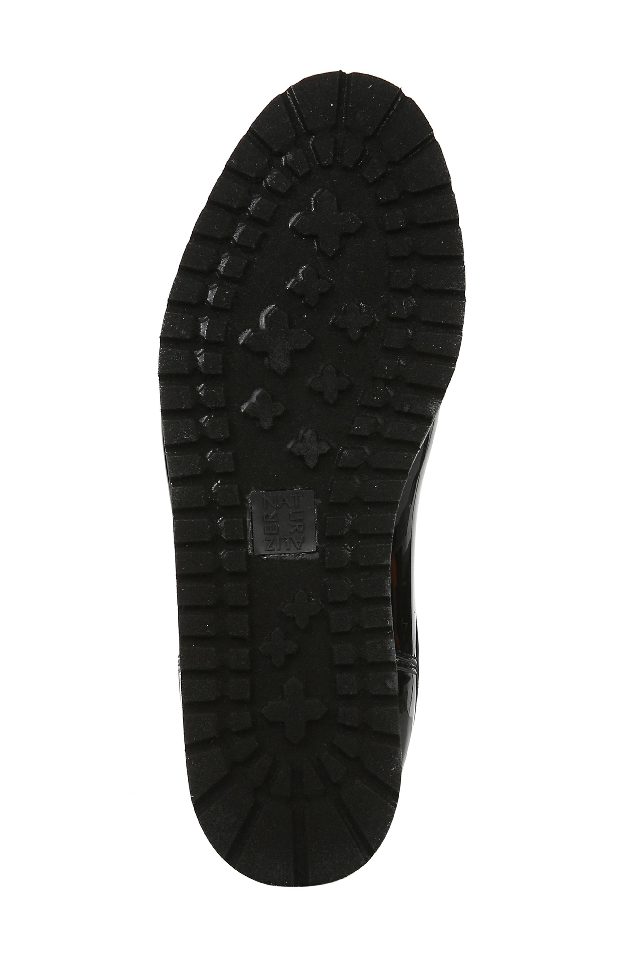 NATURALIZER, Luna Waterproof Chelsea Boot, Alternate thumbnail 6, color, BLACK