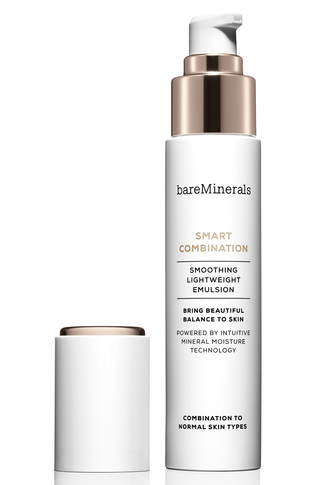 BAREMINERALS<SUP>®</SUP>, Smart Combination Smoothing Lightweight Emulsion, Alternate thumbnail 2, color, NO COLOR