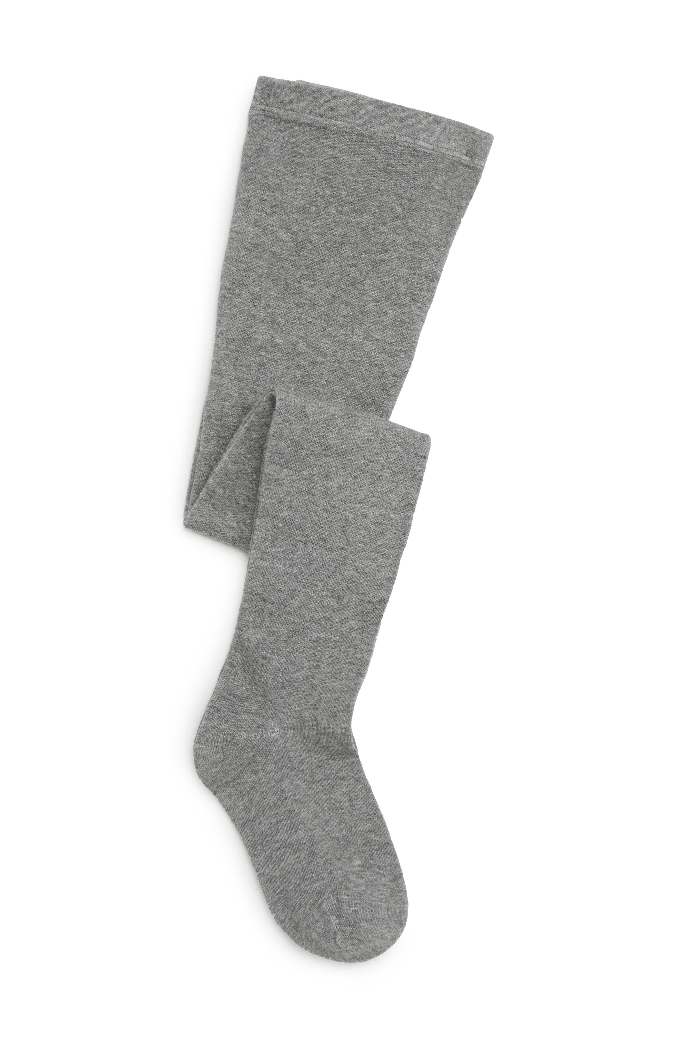 TUCKER + TATE, Nordstrom Sweater Tights, Main thumbnail 1, color, HEATHER GREY