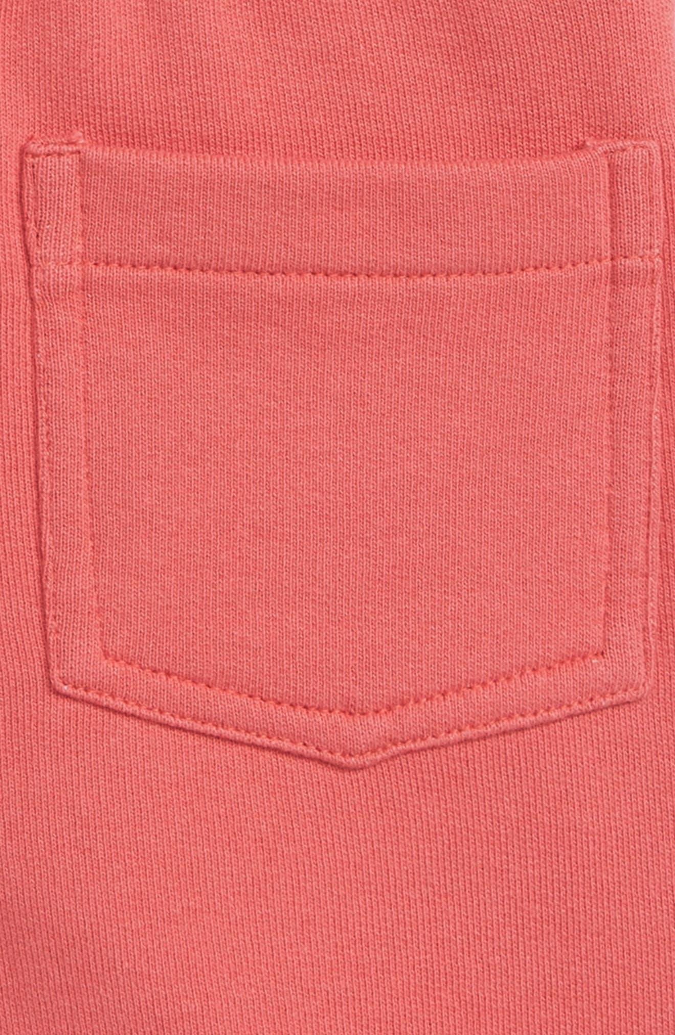 PEEK ESSENTIALS, Even Shorts, Alternate thumbnail 3, color, RED