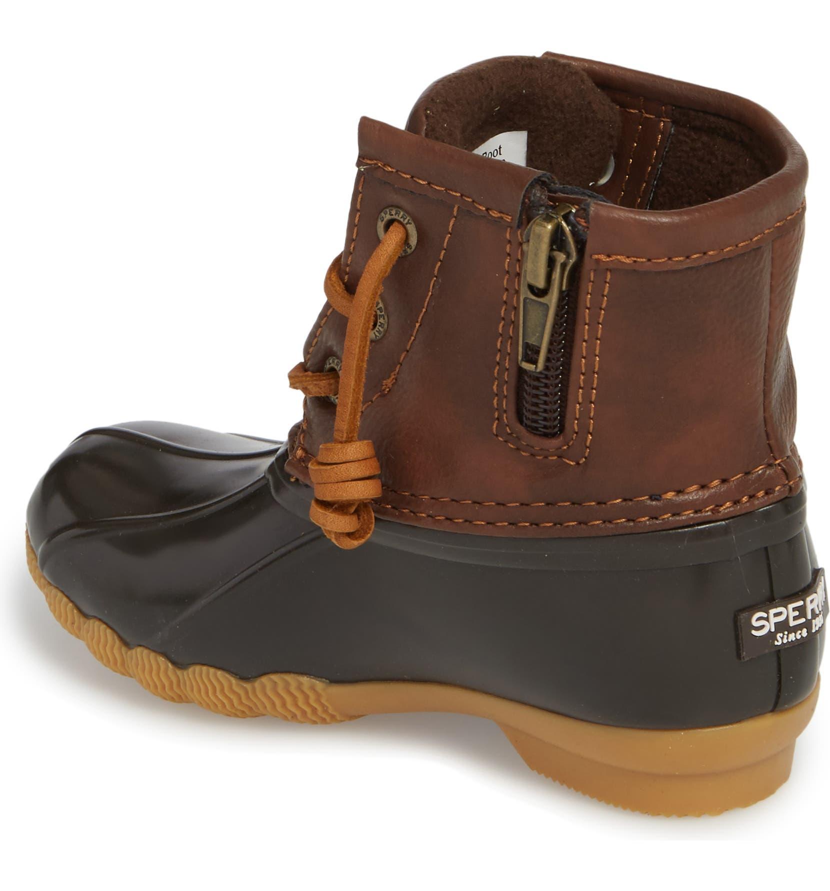 6f97c9be49 Sperry Kids Saltwater Duck Boot (Walker