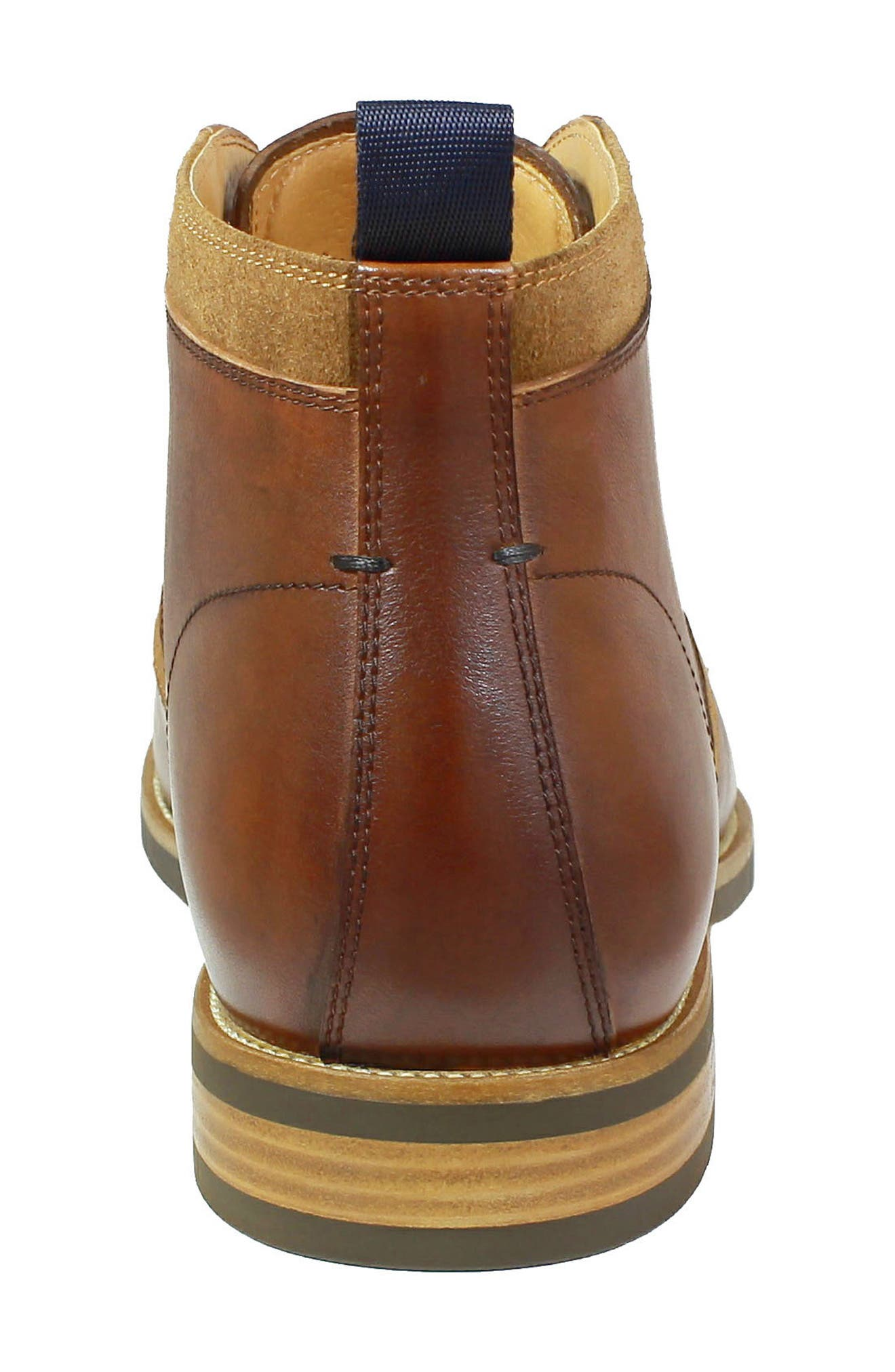 FLORSHEIM, Uptown Chukka Boot, Alternate thumbnail 7, color, COGNAC LEATHER